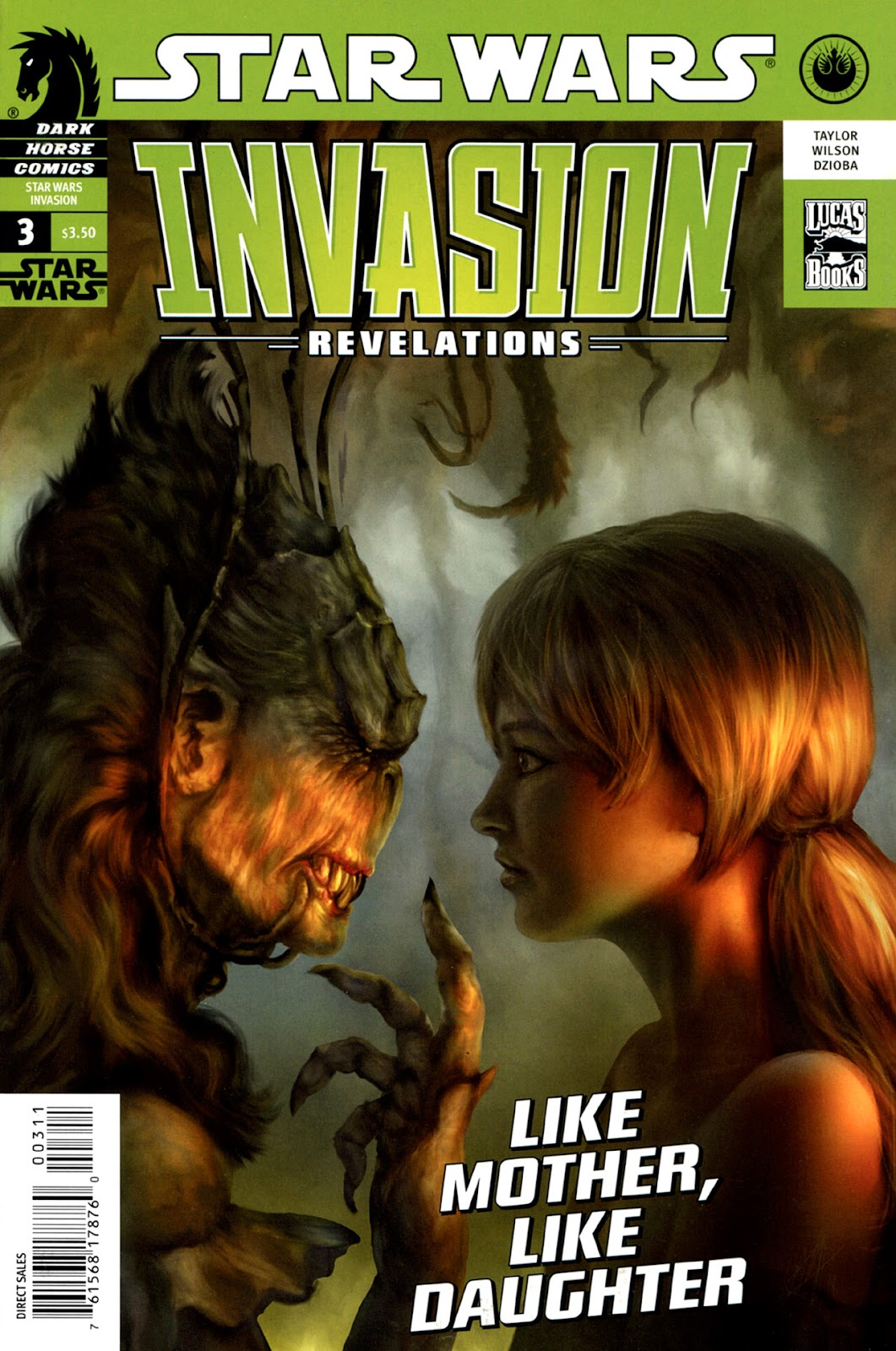 Star Wars: Invasion - Revelations issue 3 - Page 1