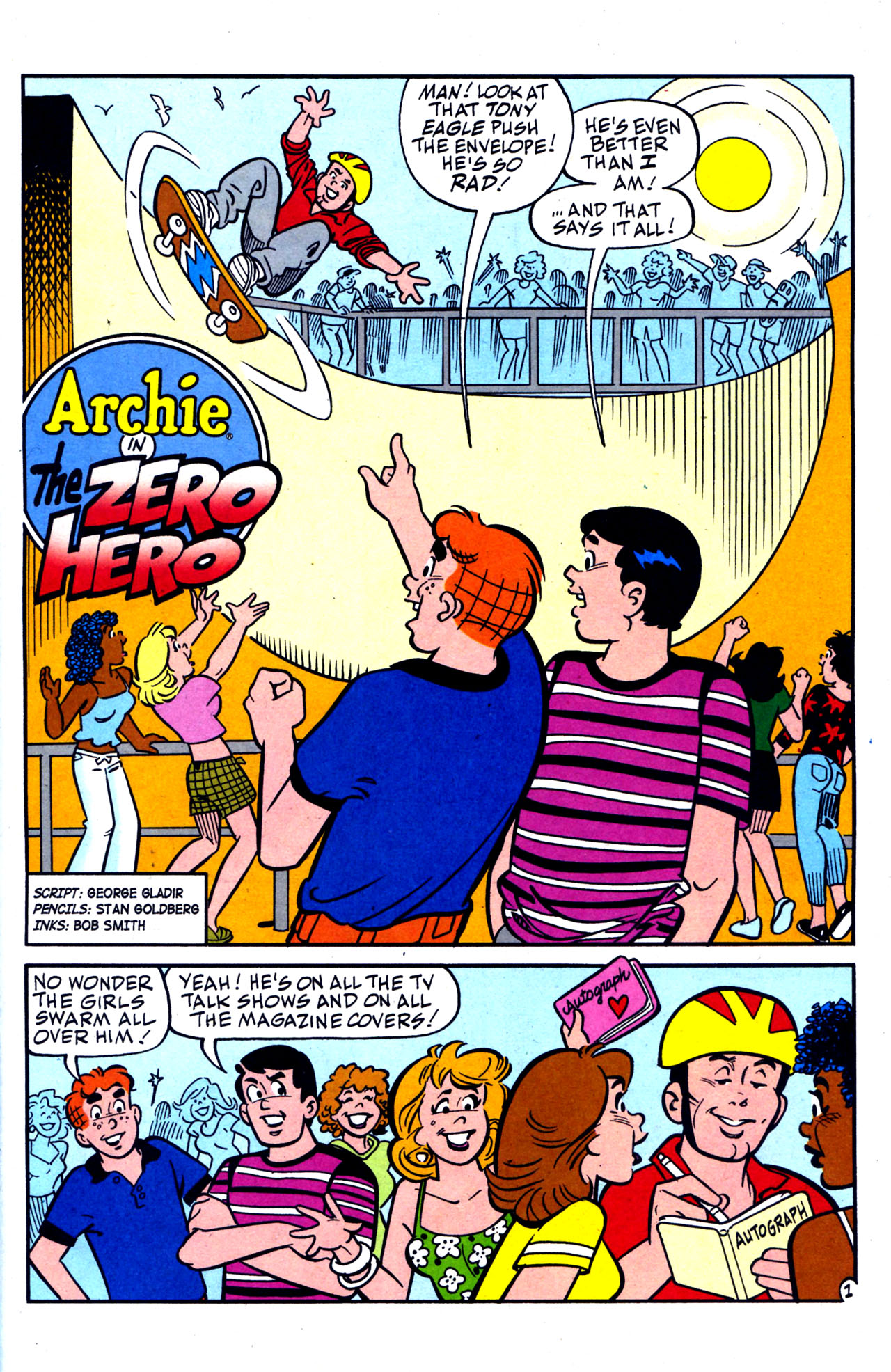 Read online Archie (1960) comic -  Issue #578 - 14