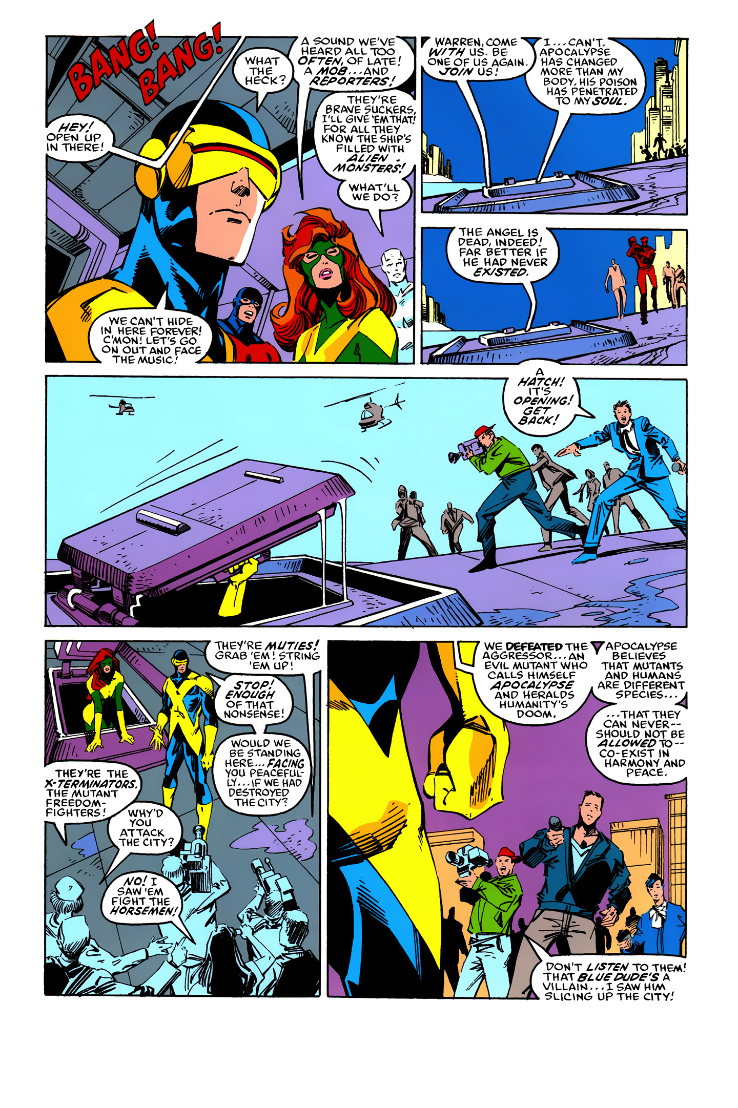 Read online X-Factor (1986) comic -  Issue #25 - 39