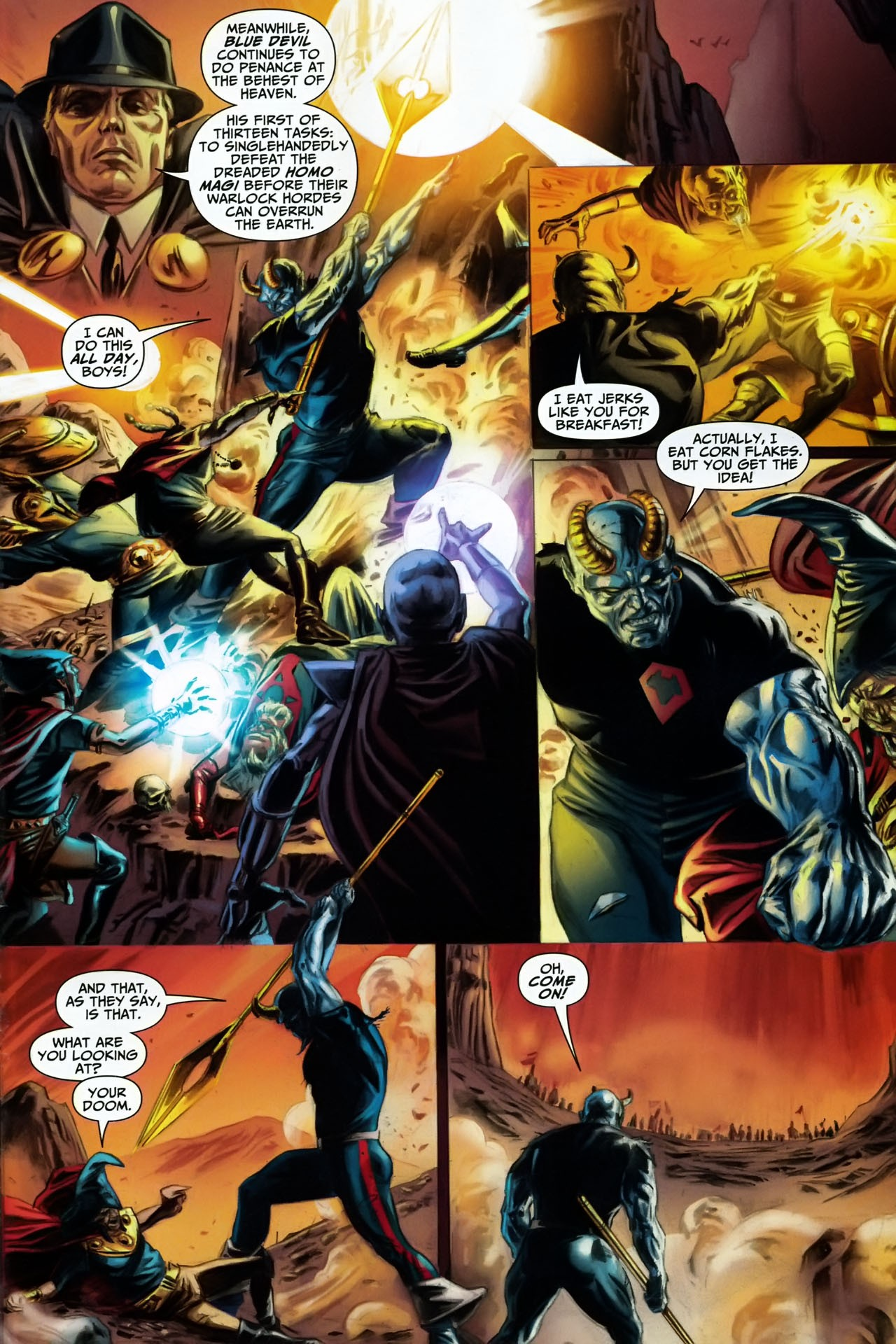 Read online Shadowpact comic -  Issue #17 - 13