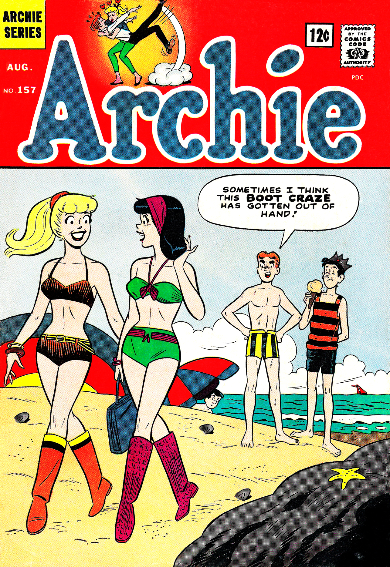 Read online Archie (1960) comic -  Issue #157 - 1
