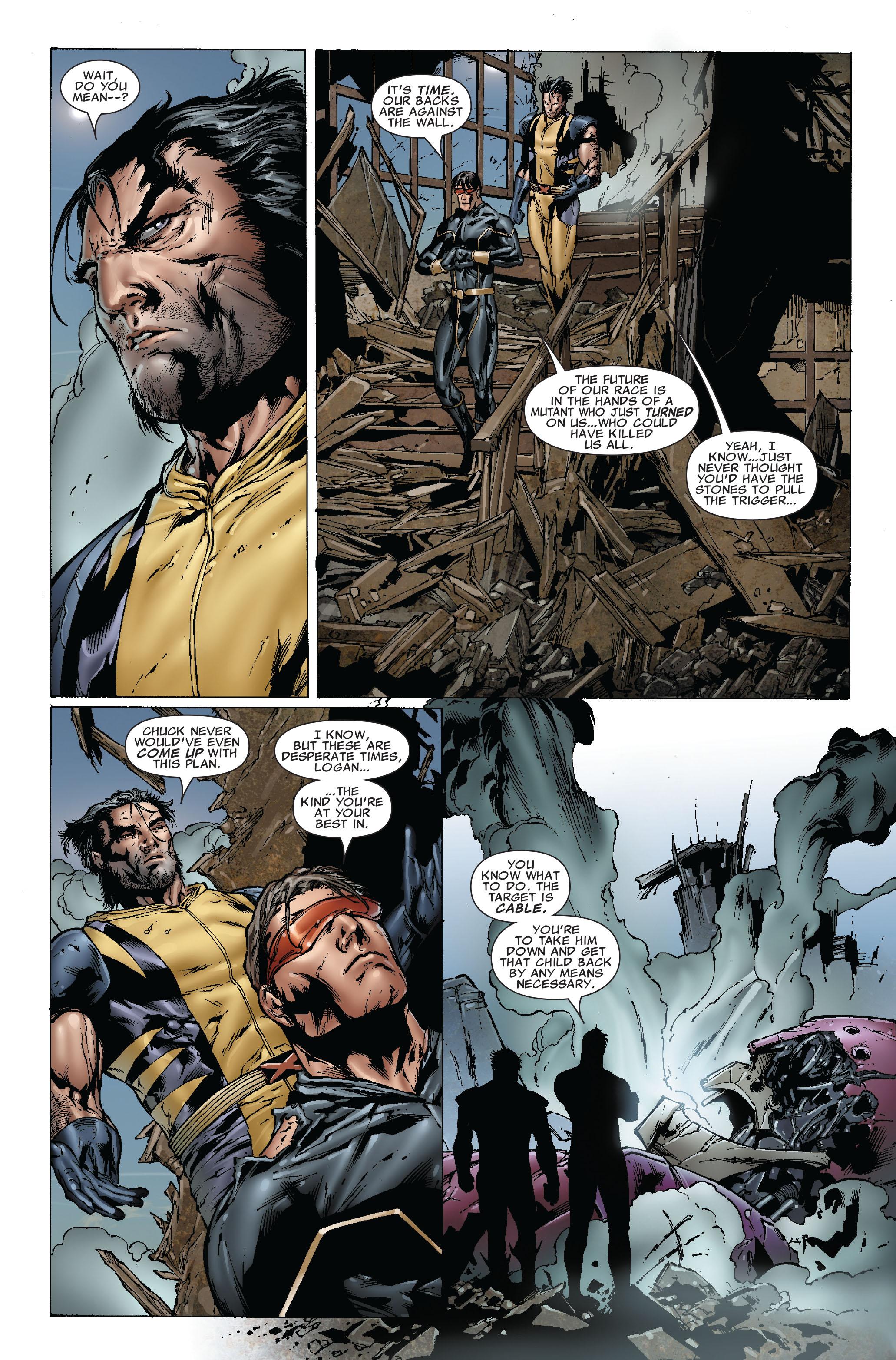 Read online Uncanny X-Men (1963) comic -  Issue #493 - 24