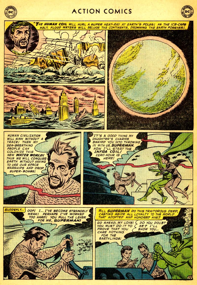 Read online Action Comics (1938) comic -  Issue #244 - 12
