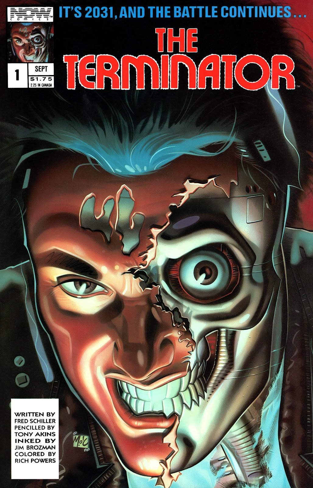 The Terminator (1988) issue 1 - Page 1