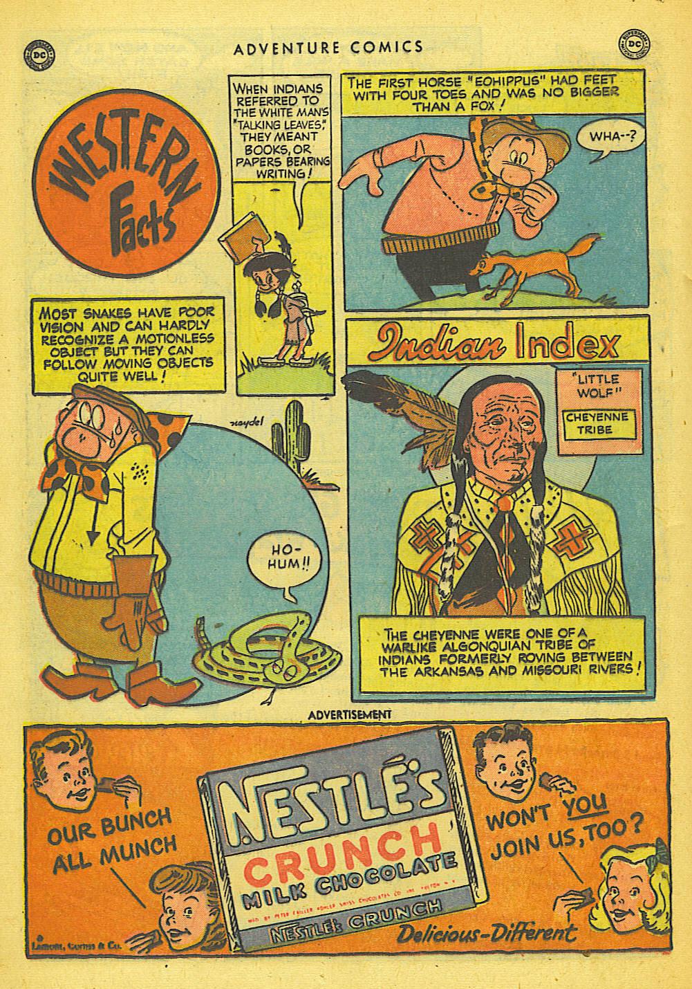 Read online Adventure Comics (1938) comic -  Issue #155 - 34