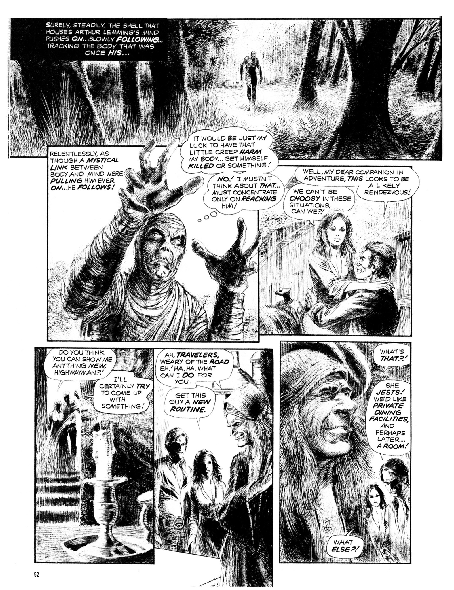 Read online Eerie Archives comic -  Issue # TPB 13 - 53