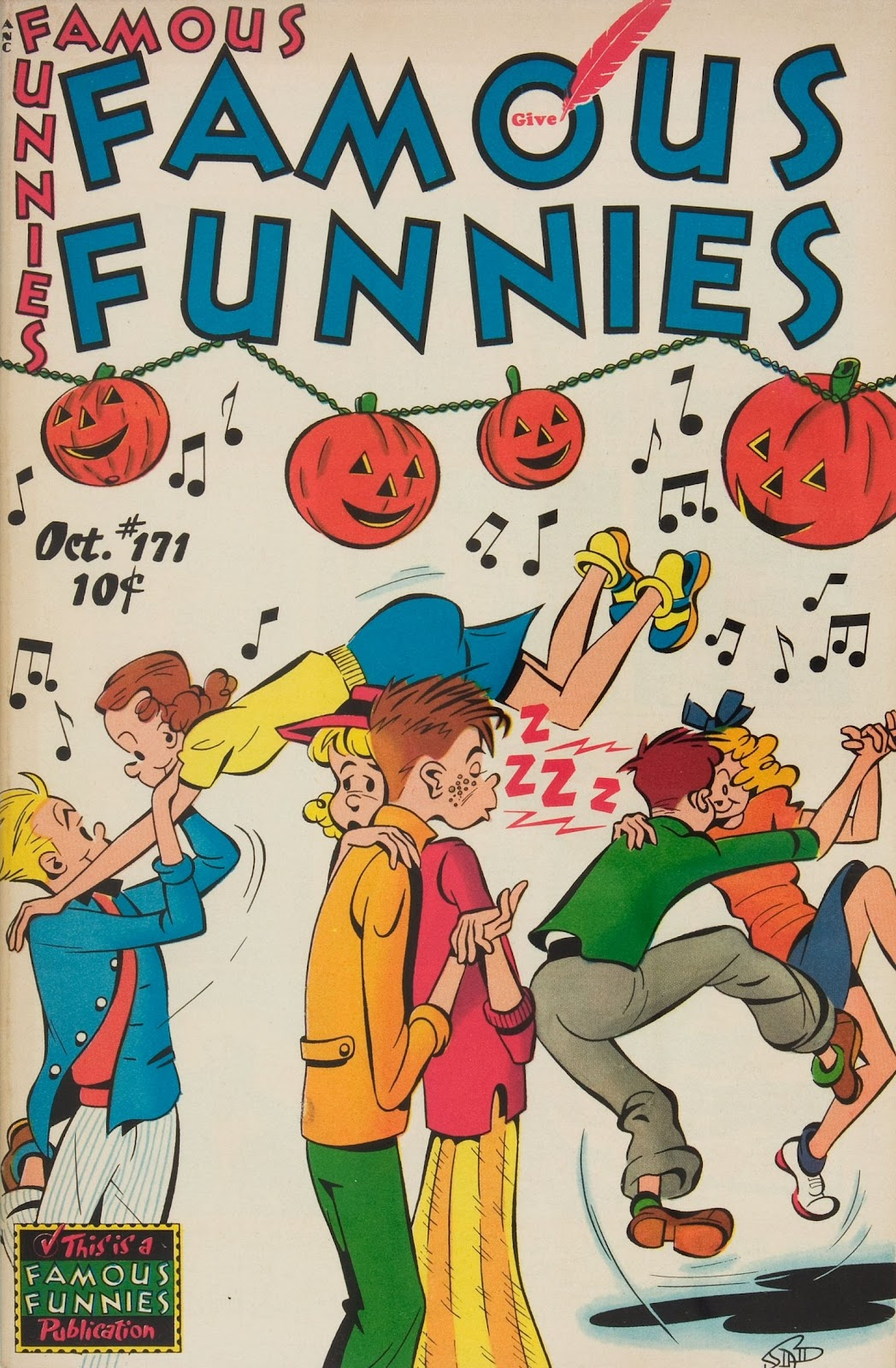 Read online Famous Funnies comic -  Issue #171 - 1