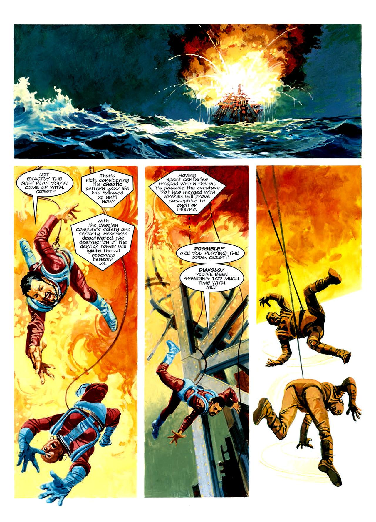 Read online Nikolai Dante comic -  Issue # TPB 6 - 198
