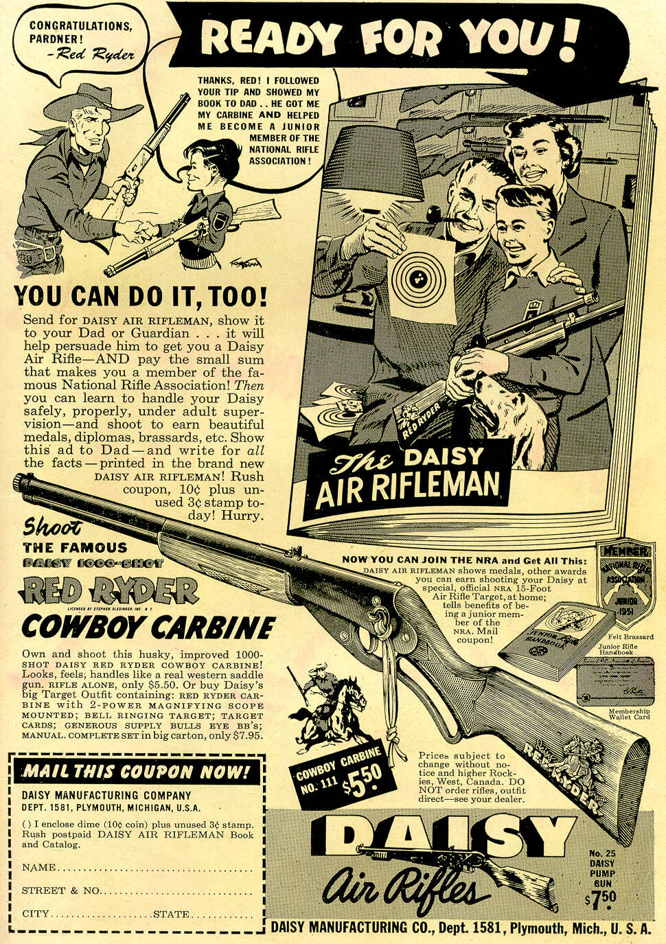 Read online Adventure Comics (1938) comic -  Issue #170 - 43