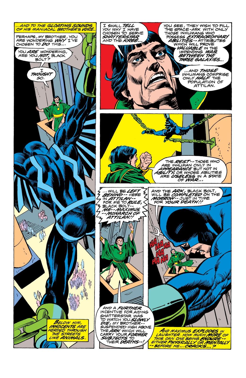Read online Marvel Masterworks: The Inhumans comic -  Issue # TPB 2 (Part 1) - 91