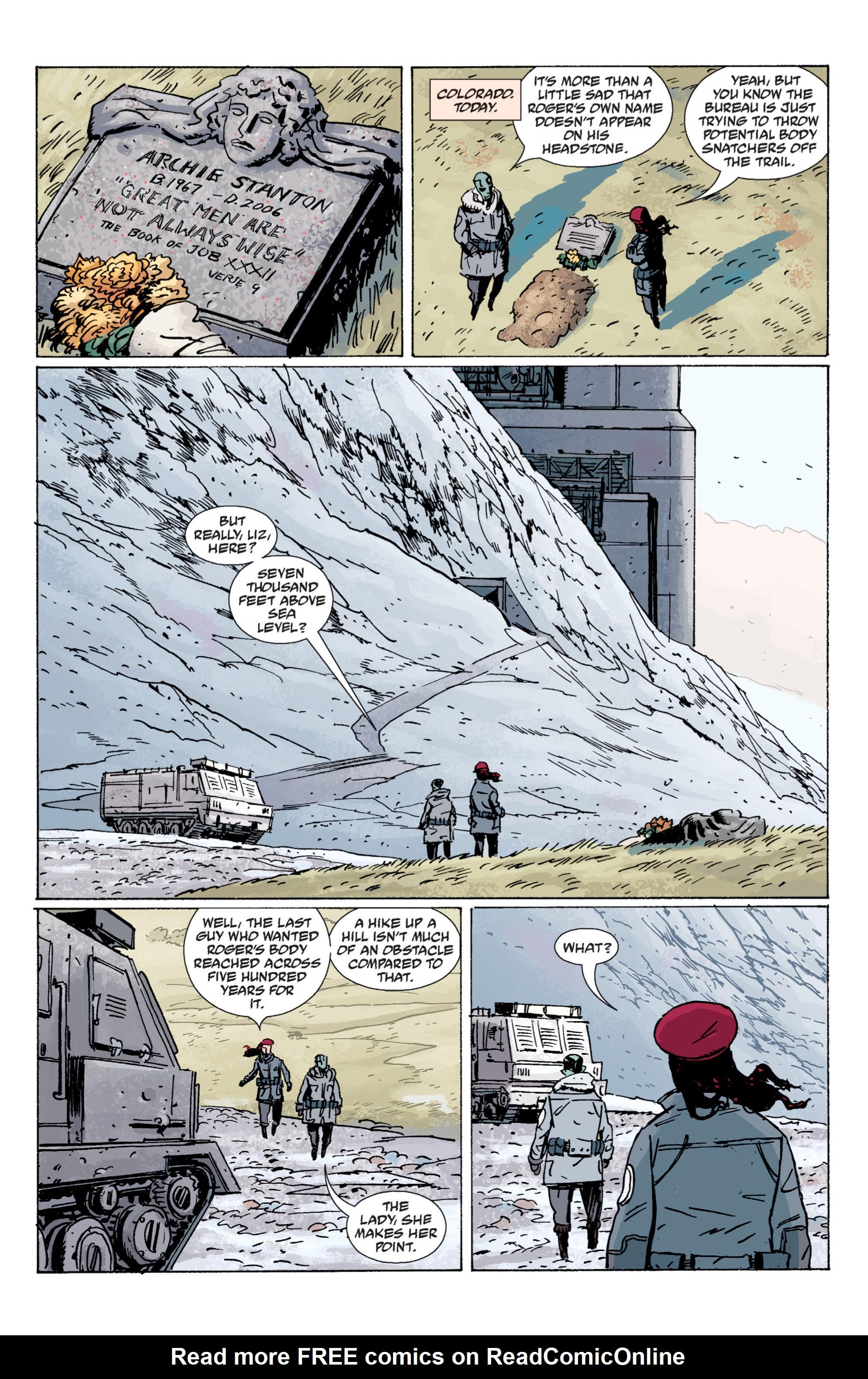 Read online B.P.R.D. (2003) comic -  Issue # TPB 7 - 16