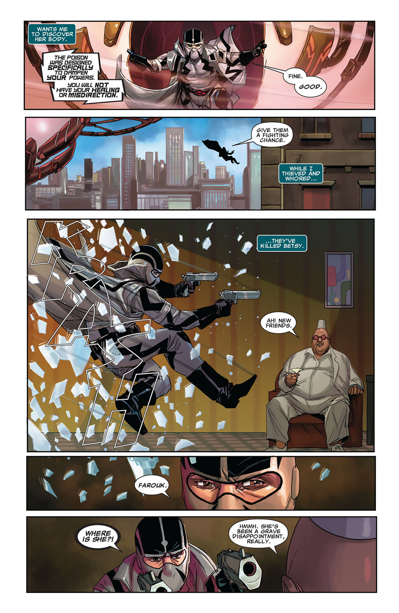 Read online Uncanny X-Force (2010) comic -  Issue #27 - 9