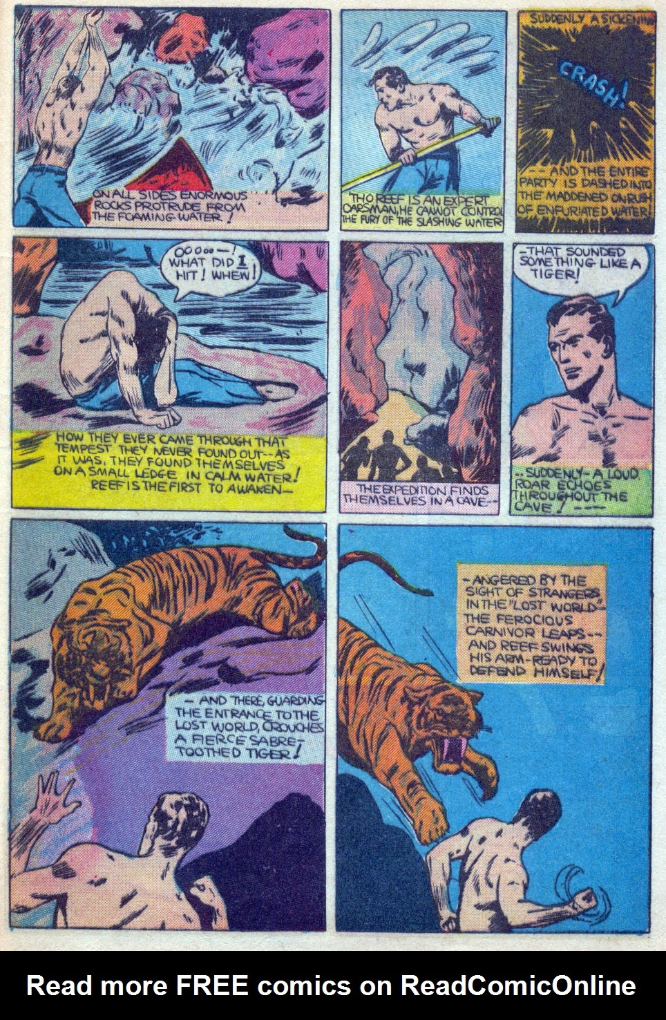 Read online Amazing Man Comics comic -  Issue #15 - 56