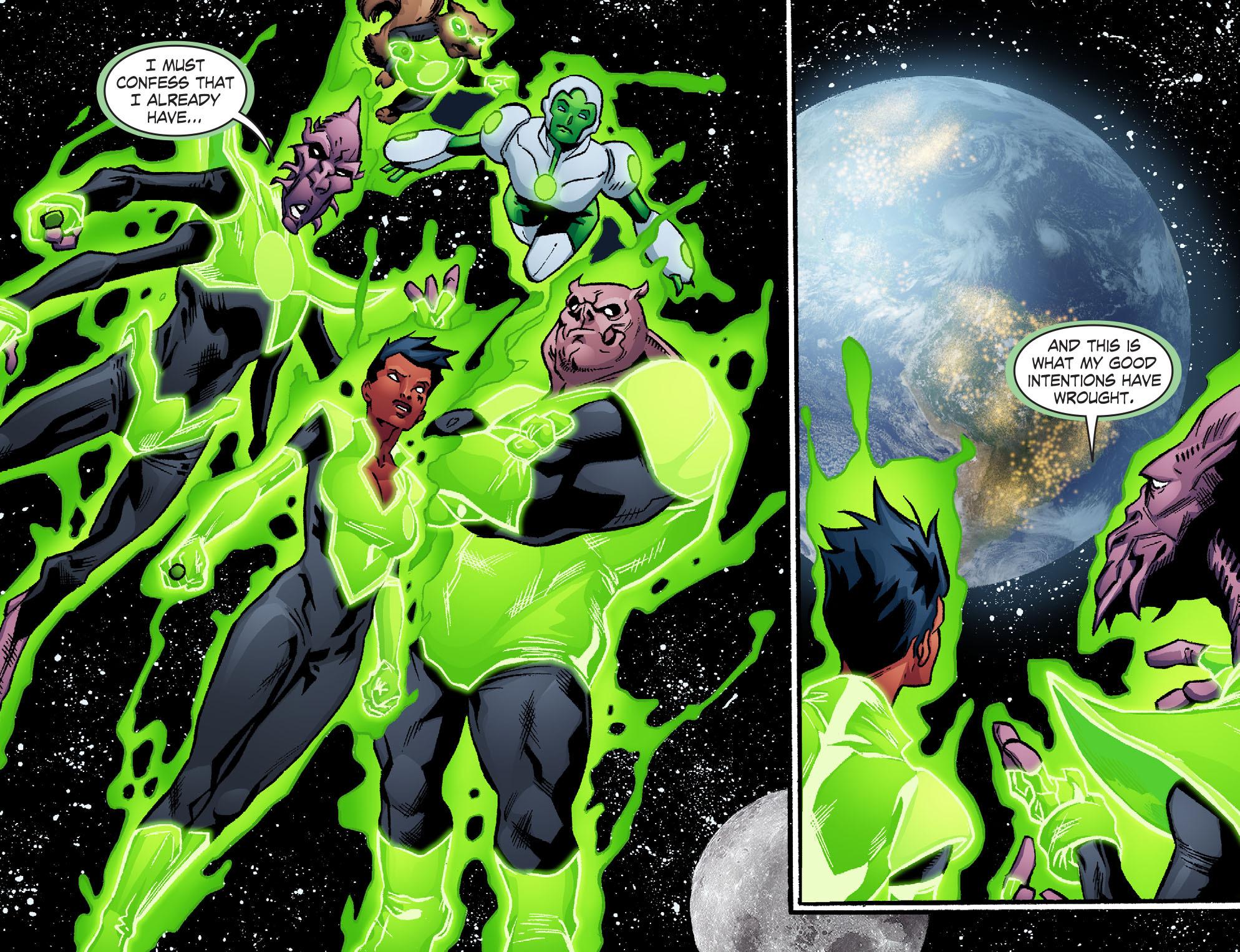 Read online Smallville: Lantern [I] comic -  Issue #10 - 21