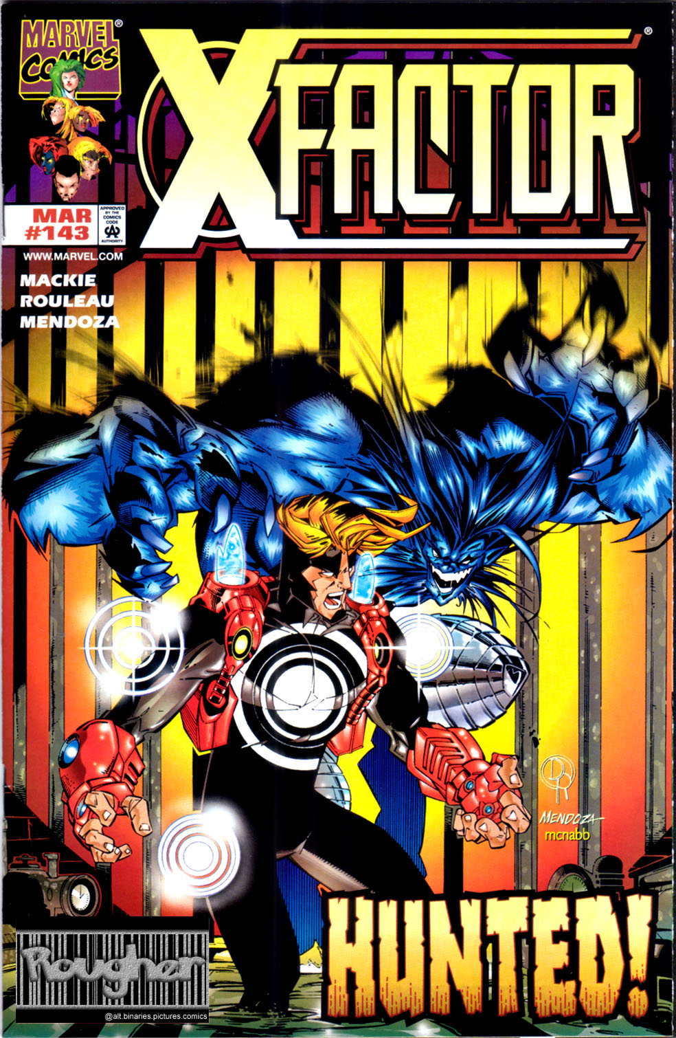 Read online X-Factor (1986) comic -  Issue #143 - 1