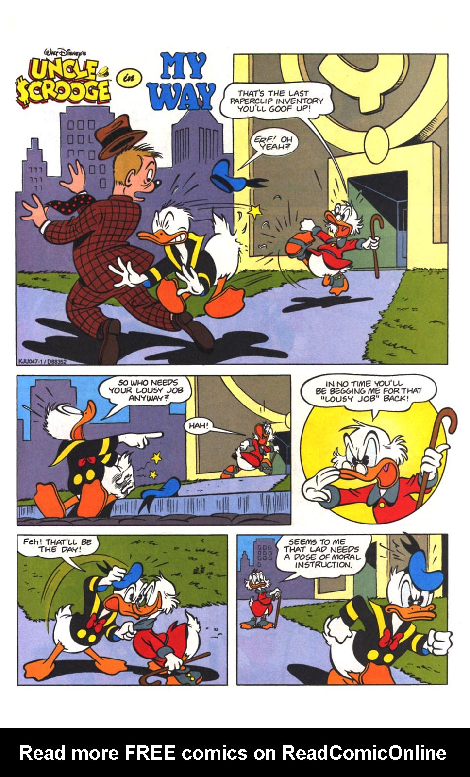 Read online Uncle Scrooge (1953) comic -  Issue #265 - 23