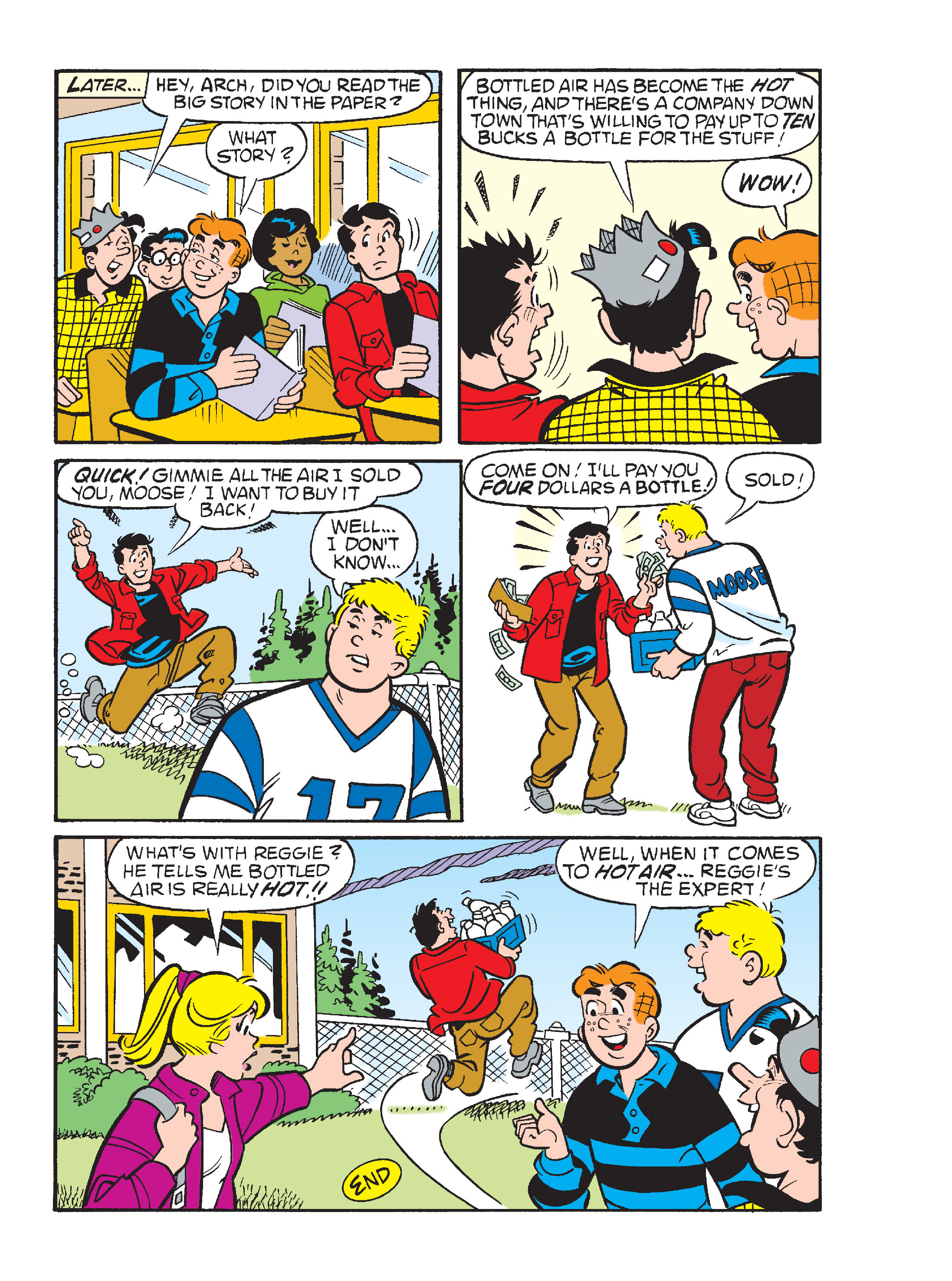 Read online Archie's Funhouse Double Digest comic -  Issue #15 - 165