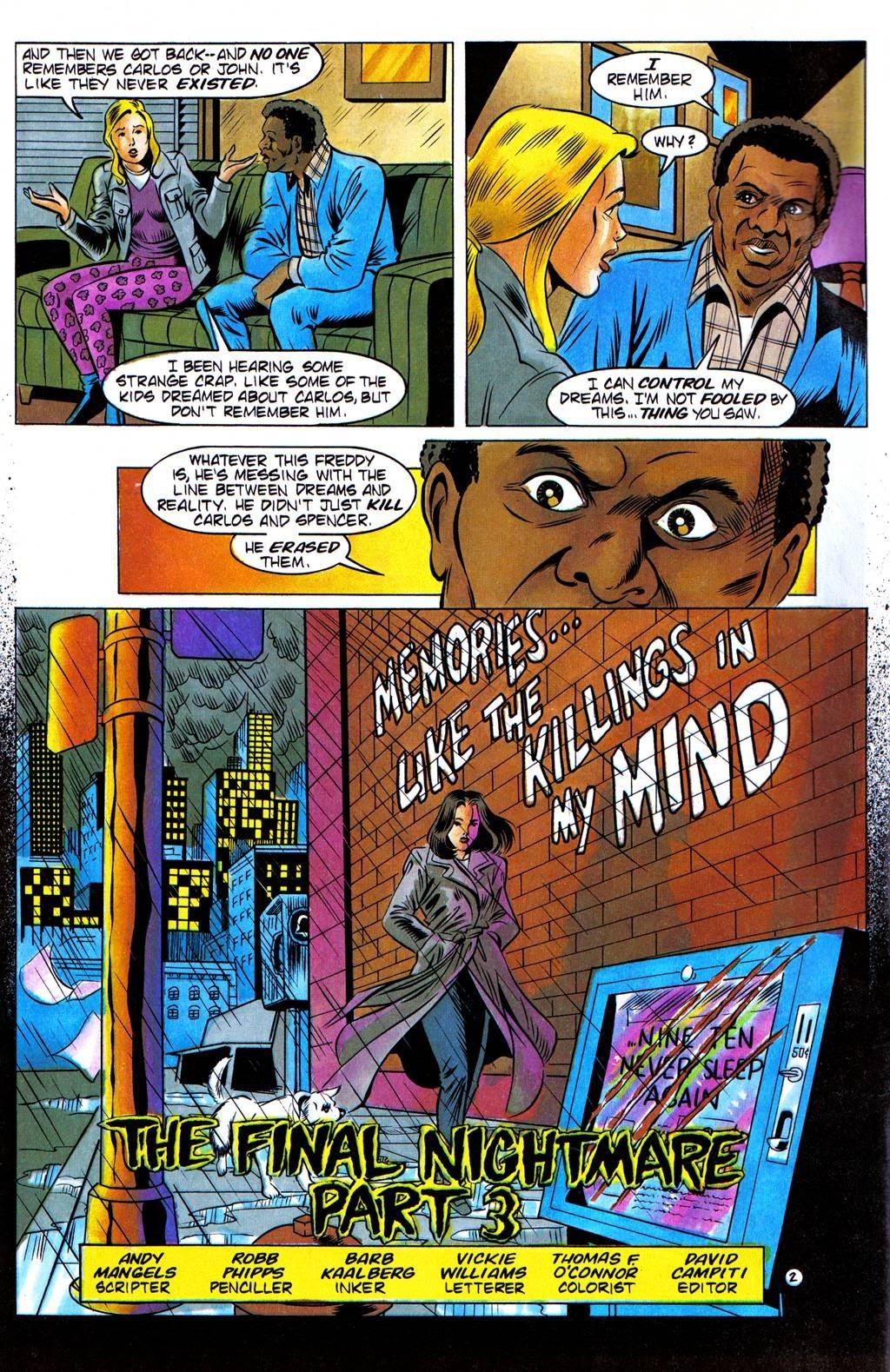 Read online Freddy's Dead: The Final Nightmare comic -  Issue #3 - 4