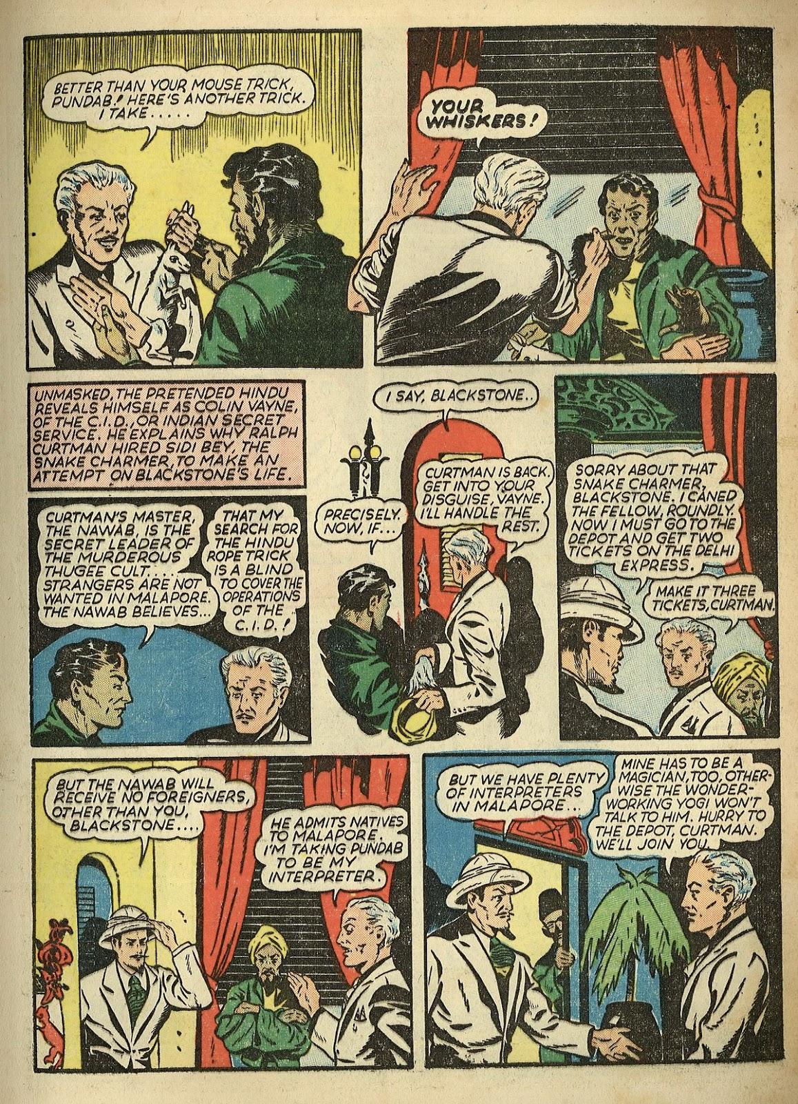Read online Super-Magician Comics comic -  Issue #1 - 9