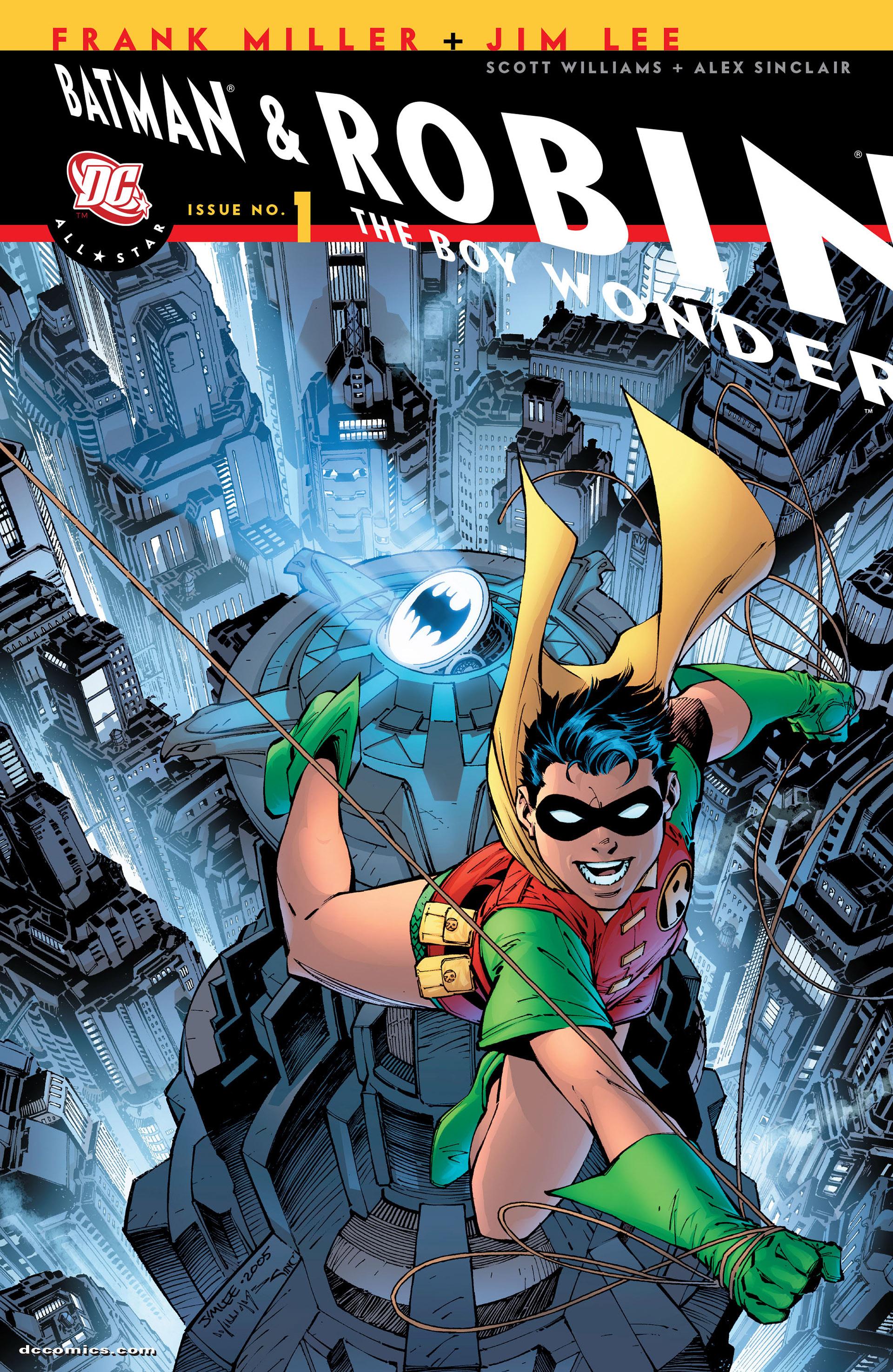 Read online All Star Batman & Robin, The Boy Wonder comic -  Issue #1 - 2