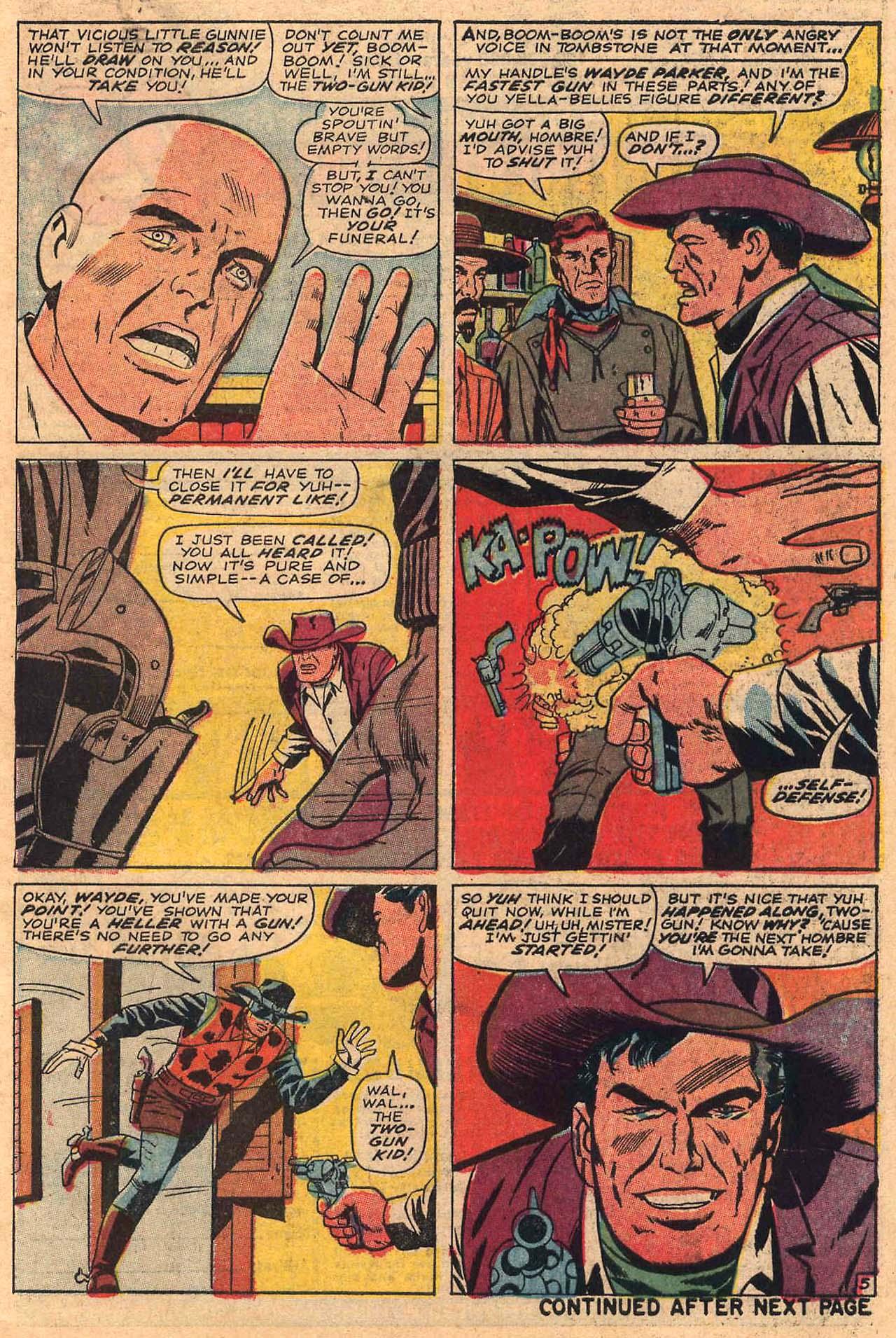 Read online Two-Gun Kid comic -  Issue #84 - 7
