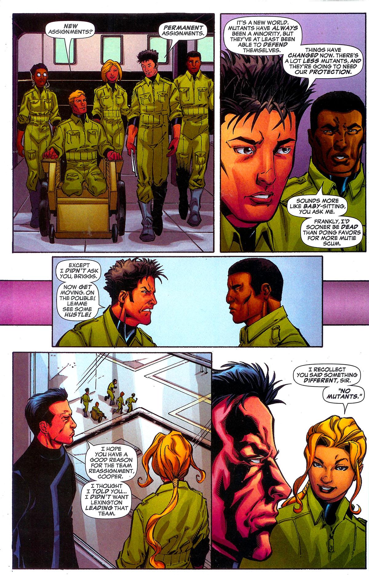 Read online Sentinel Squad O*N*E comic -  Issue #5 - 21