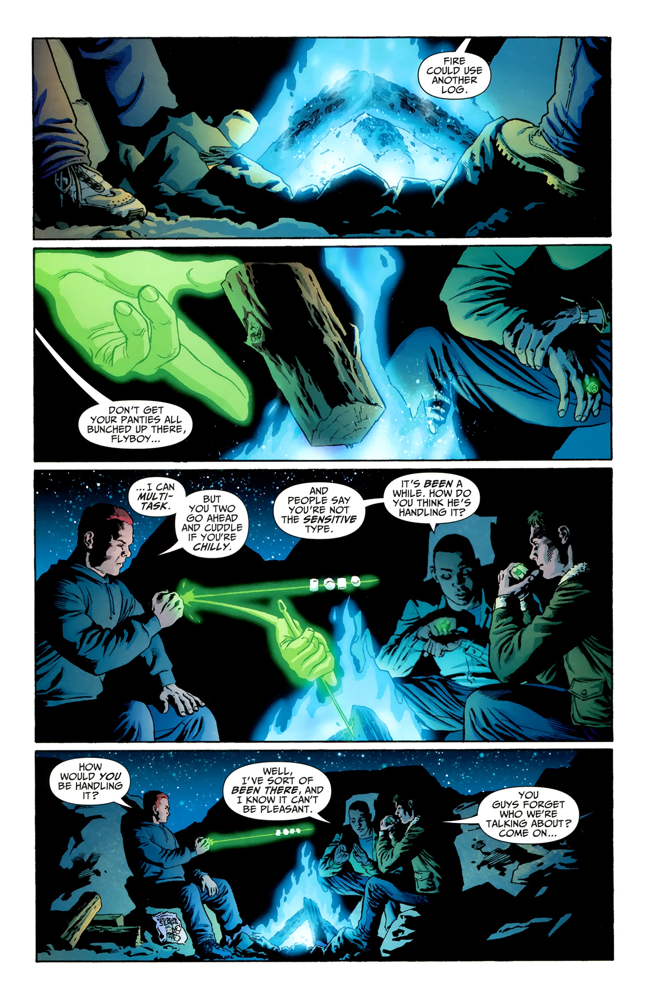 Tales of the Sinestro Corps: Ion Full Page 2