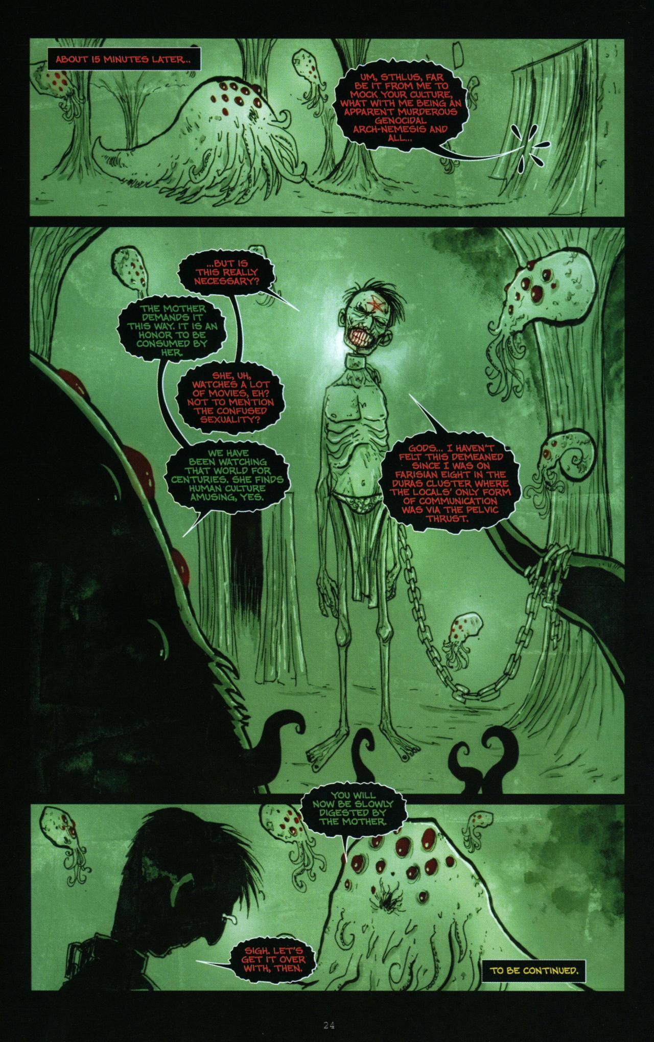 Read online Wormwood: Gentleman Corpse comic -  Issue #10 - 25