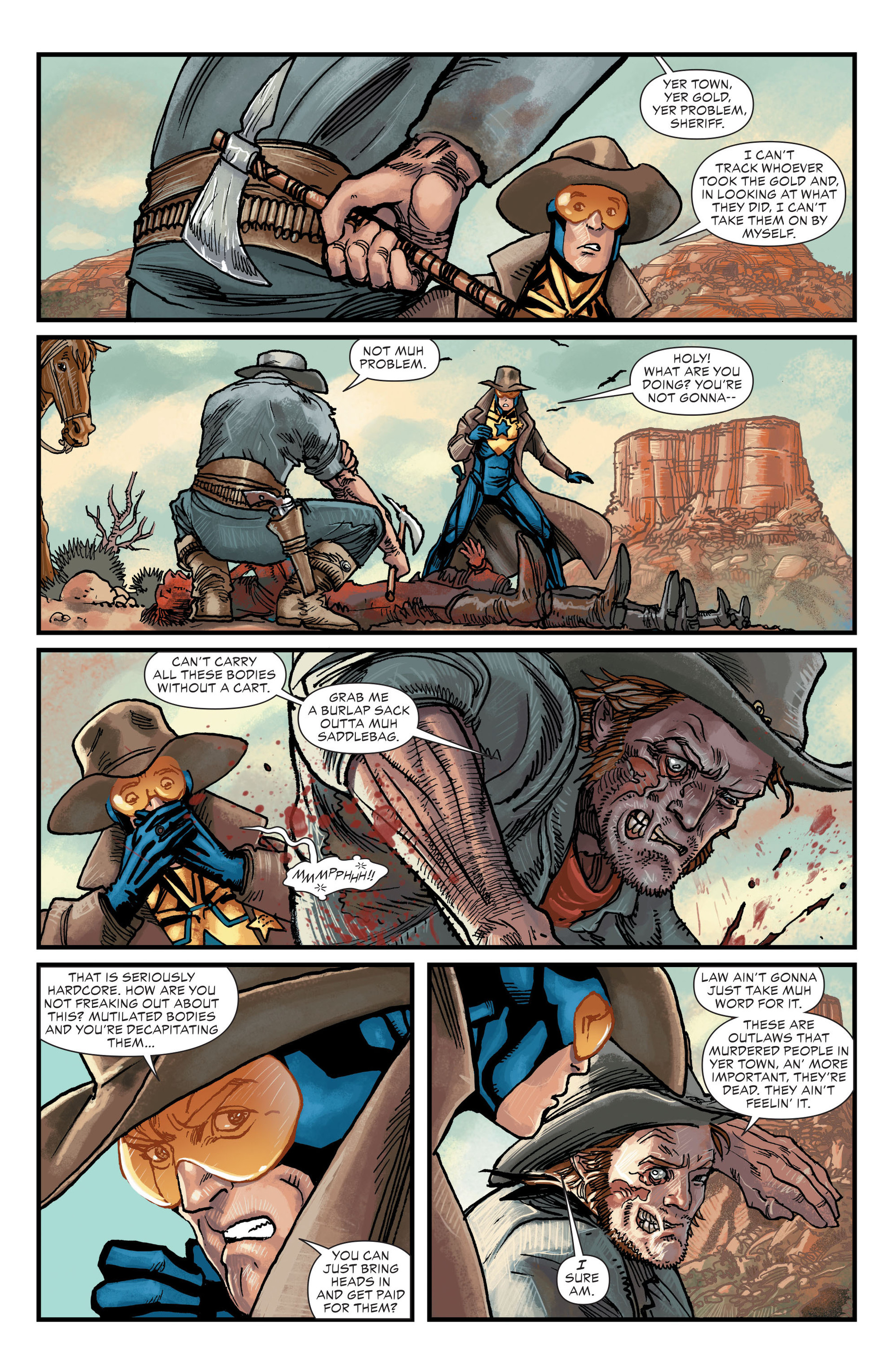Read online All-Star Western (2011) comic -  Issue #20 - 6
