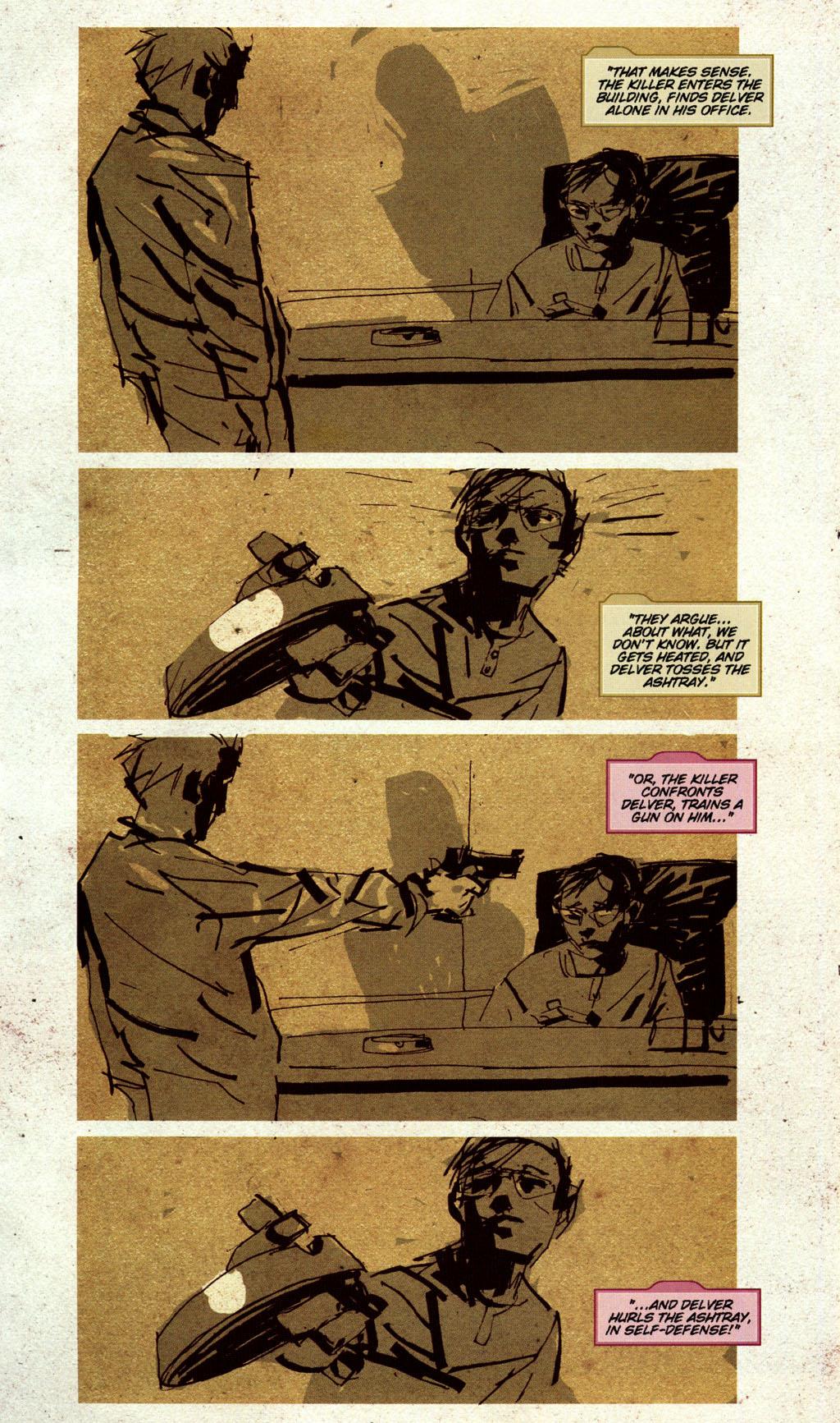 Read online CSI: Crime Scene Investigation: Bad Rap comic -  Issue #5 - 8