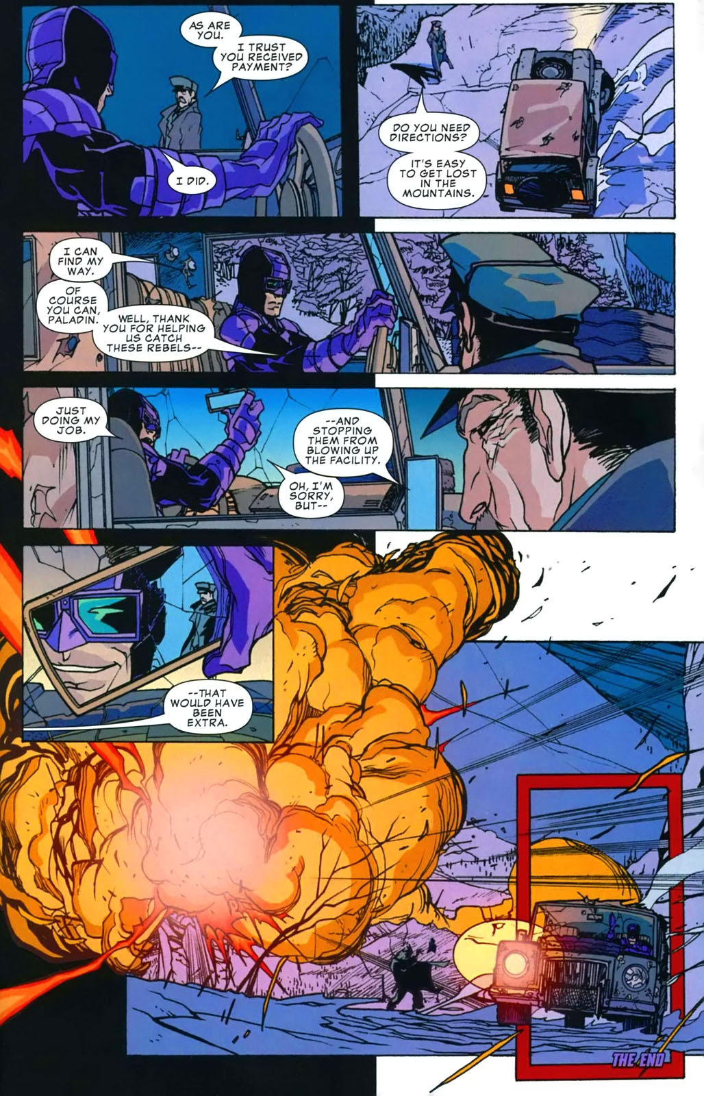Read online Amazing Fantasy (2004) comic -  Issue #16 - 32