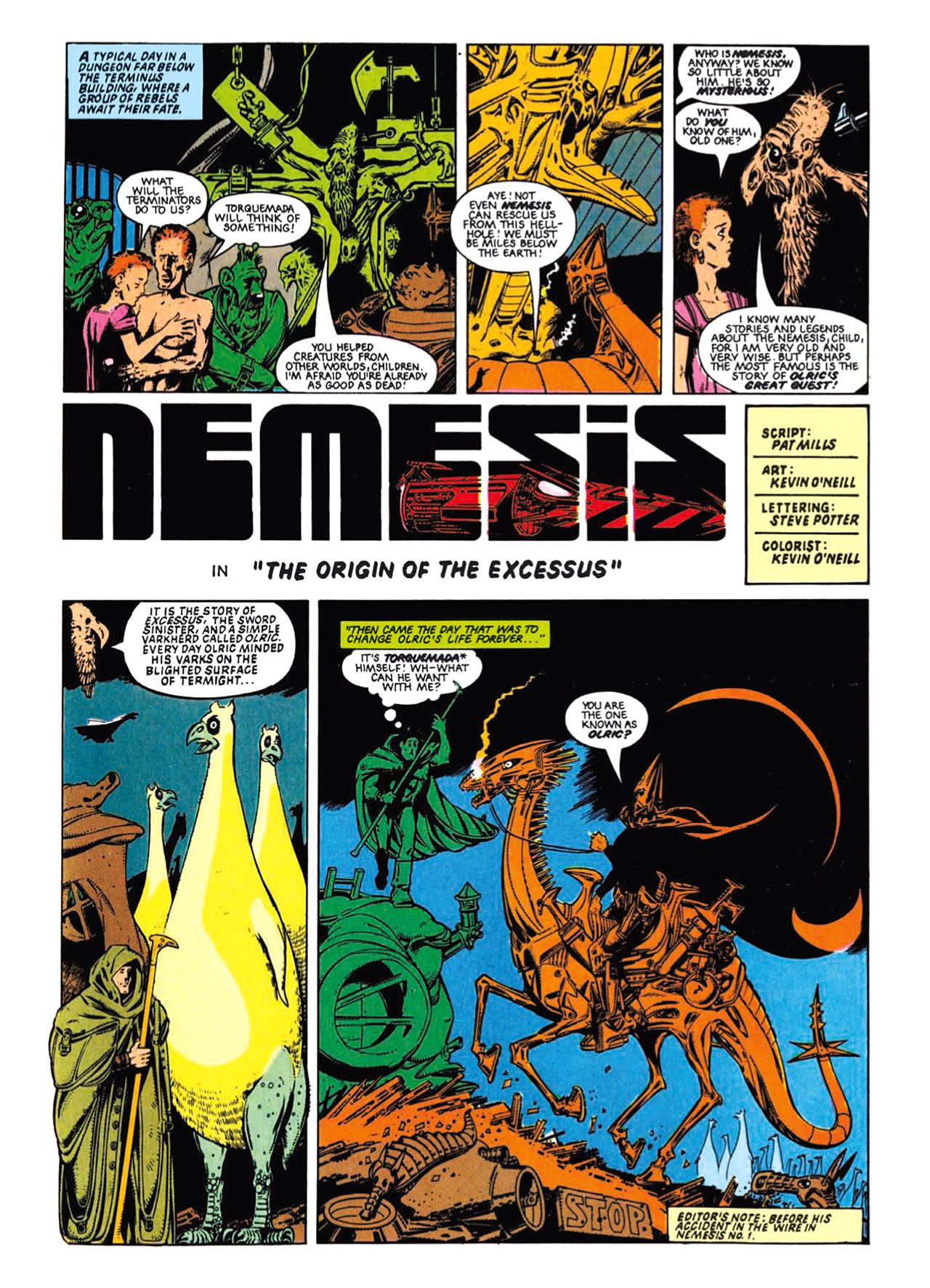 Read online Nemesis The Warlock comic -  Issue # TPB Deviant Edition - 63