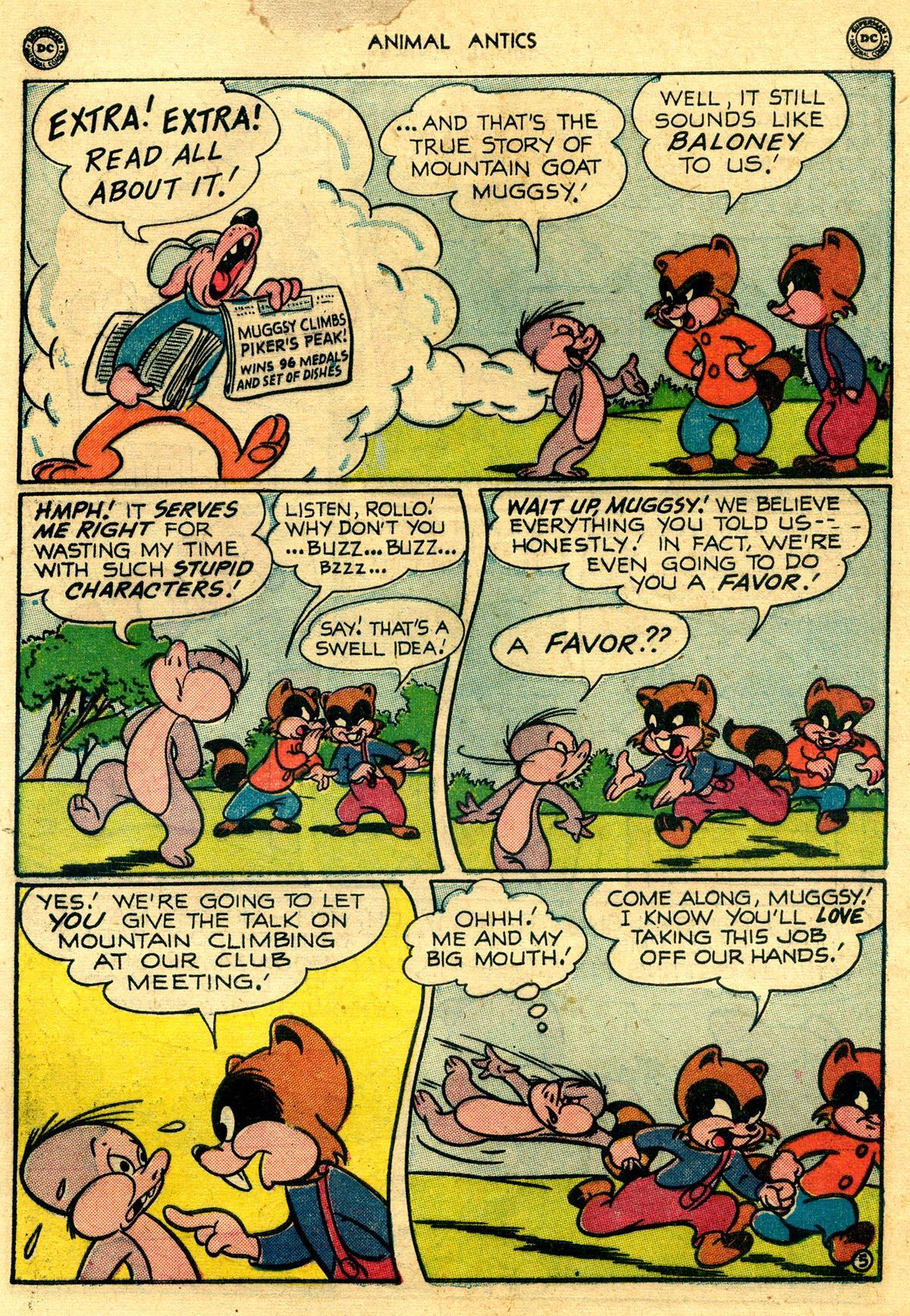 Read online Animal Antics comic -  Issue #26 - 7