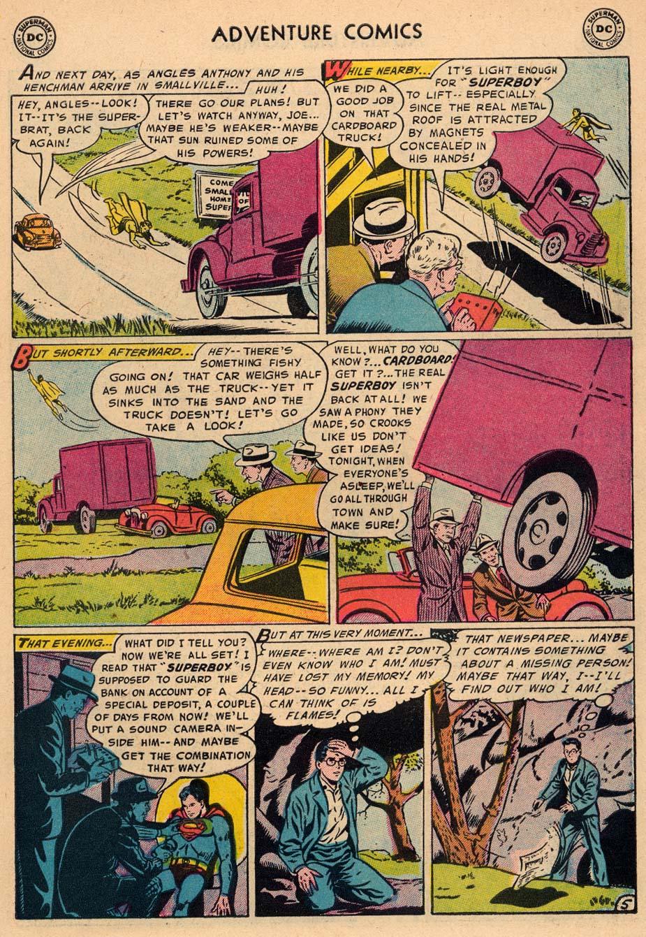 Read online Adventure Comics (1938) comic -  Issue #212 - 7