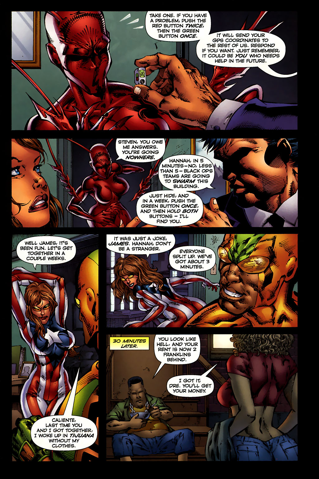 Read online Ant comic -  Issue #10 - 5