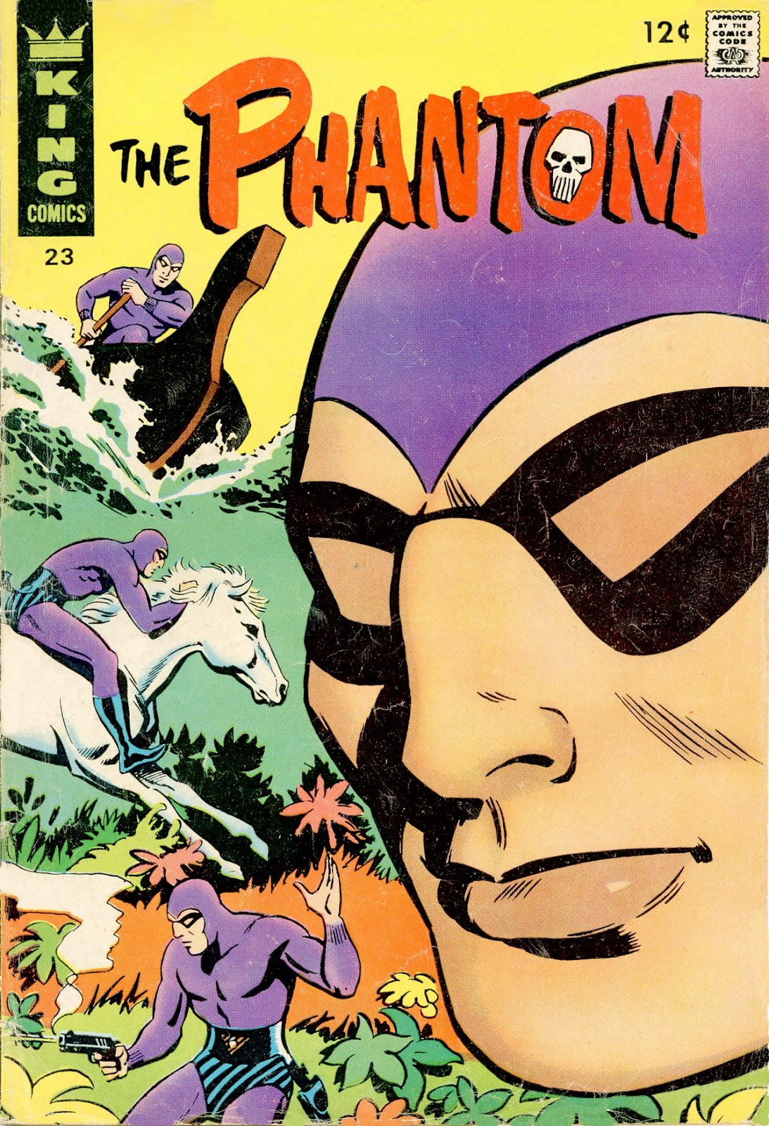 The Phantom (1966) issue 23 - Page 1