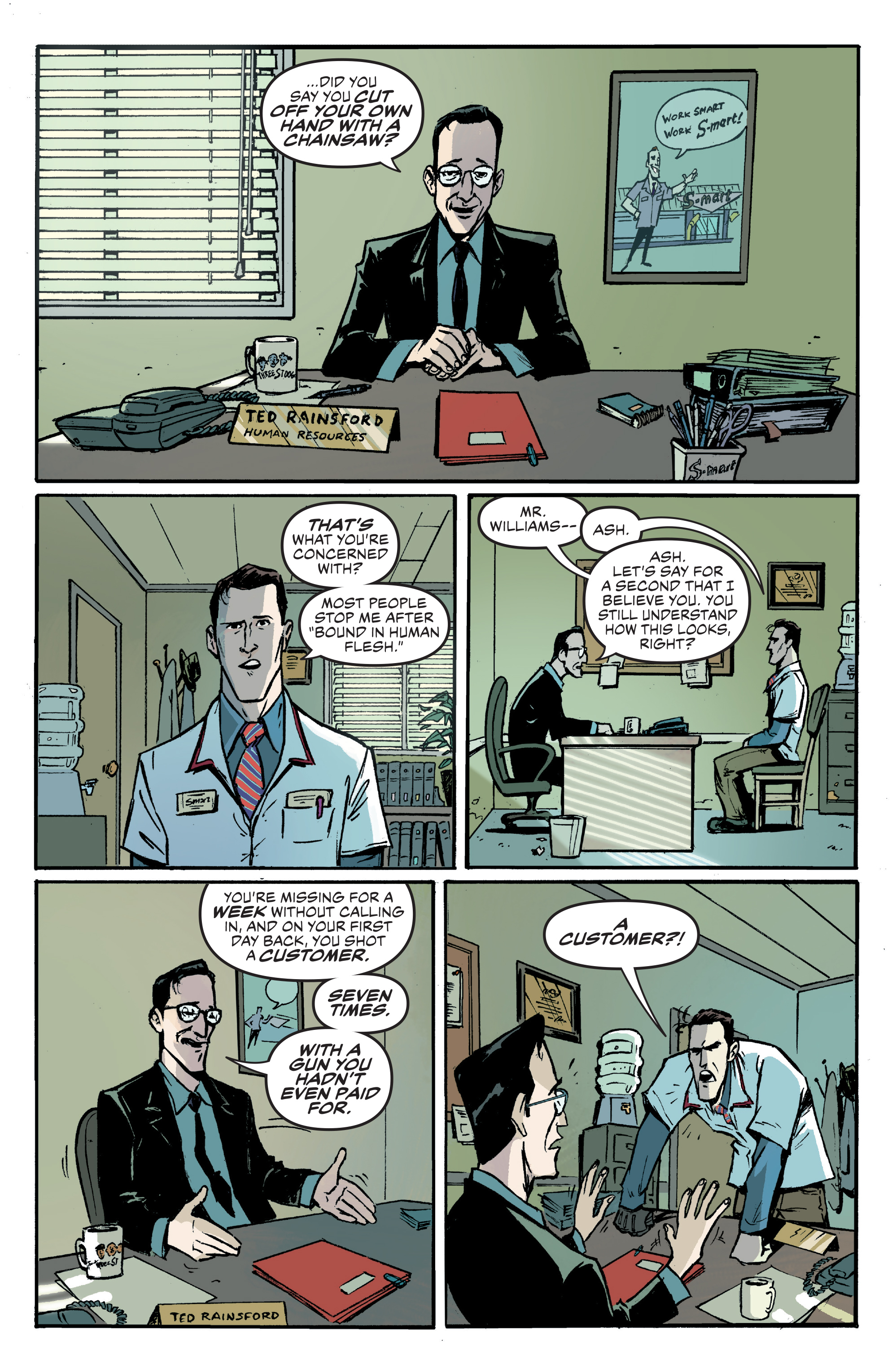 Read online Ash Vs. The Army of Darkness comic -  Issue #0 - 8