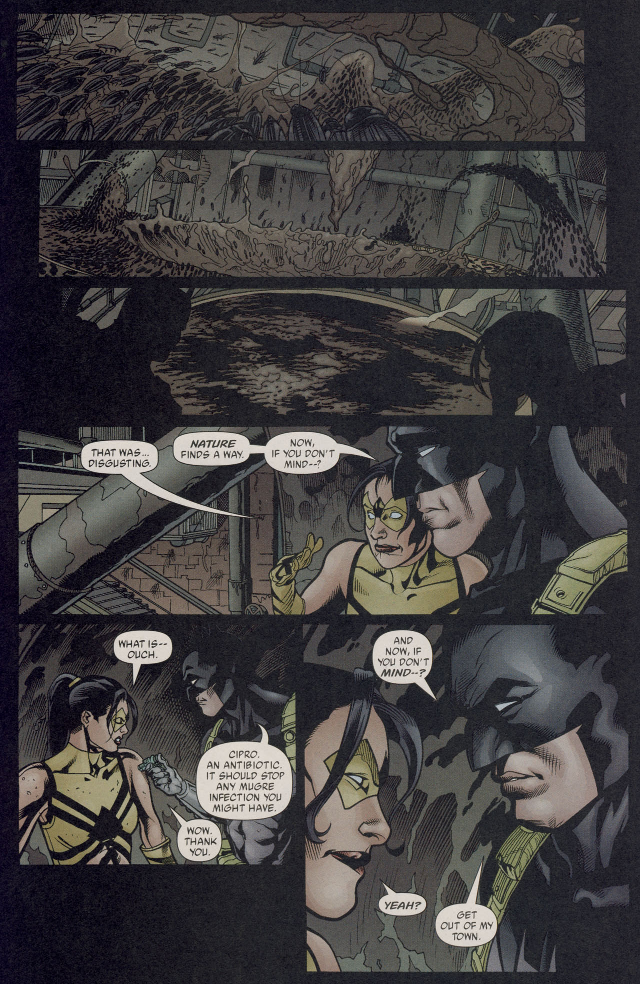 Read online Batman War Drums comic -  Issue # TPB - 137