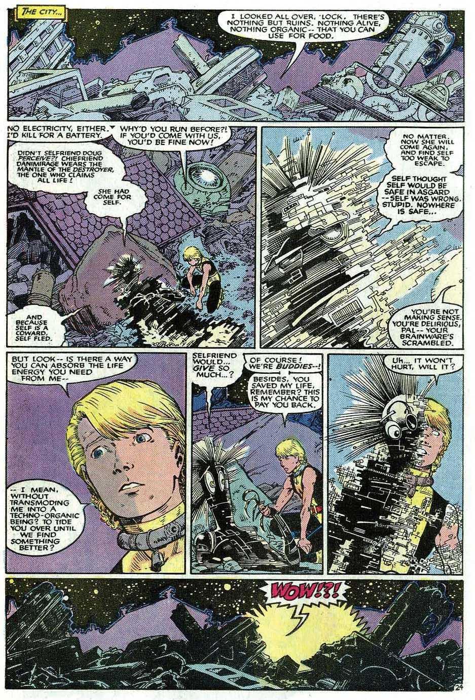 Read online Uncanny X-Men (1963) comic -  Issue # _Annual 9 - 26