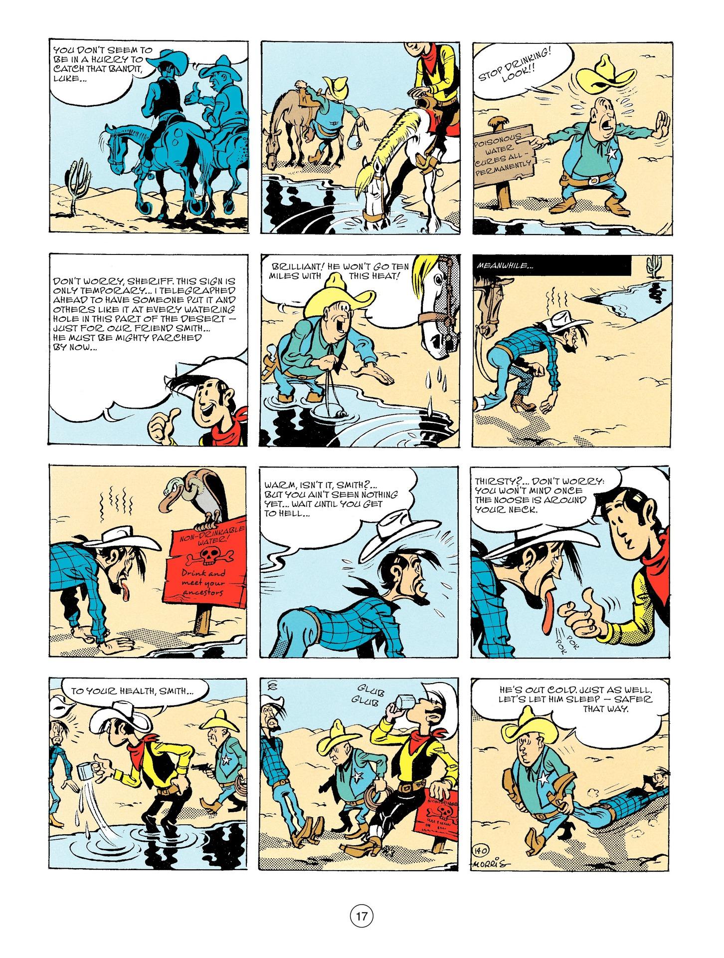 Read online A Lucky Luke Adventure comic -  Issue #56 - 17