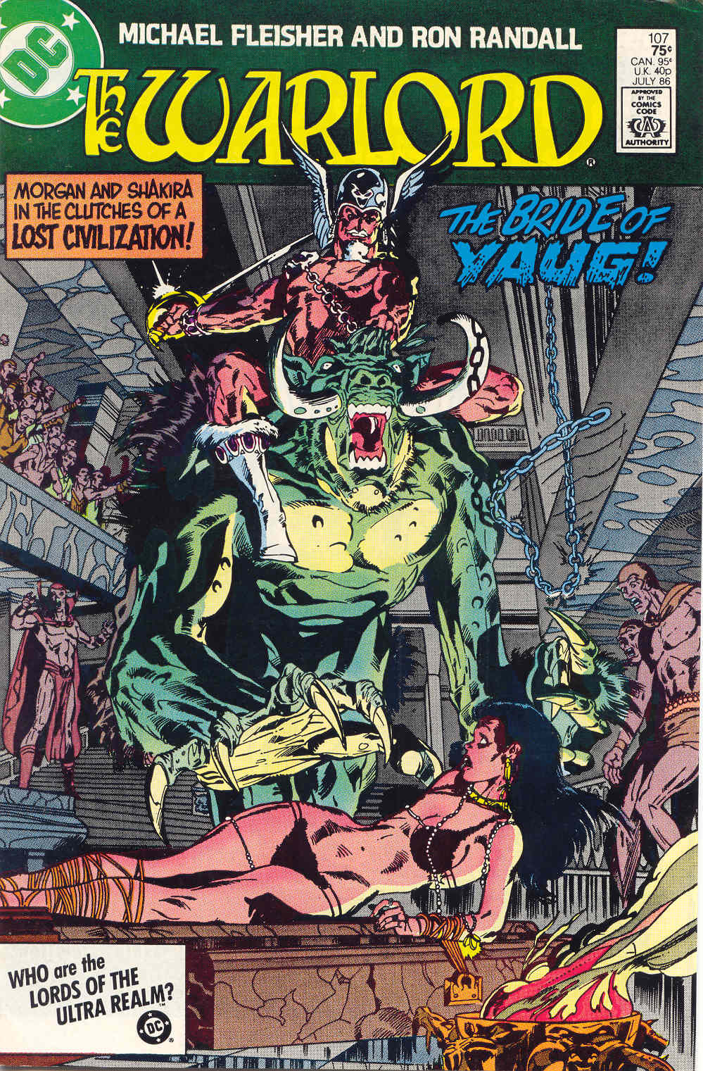 Warlord (1976) issue 107 - Page 1