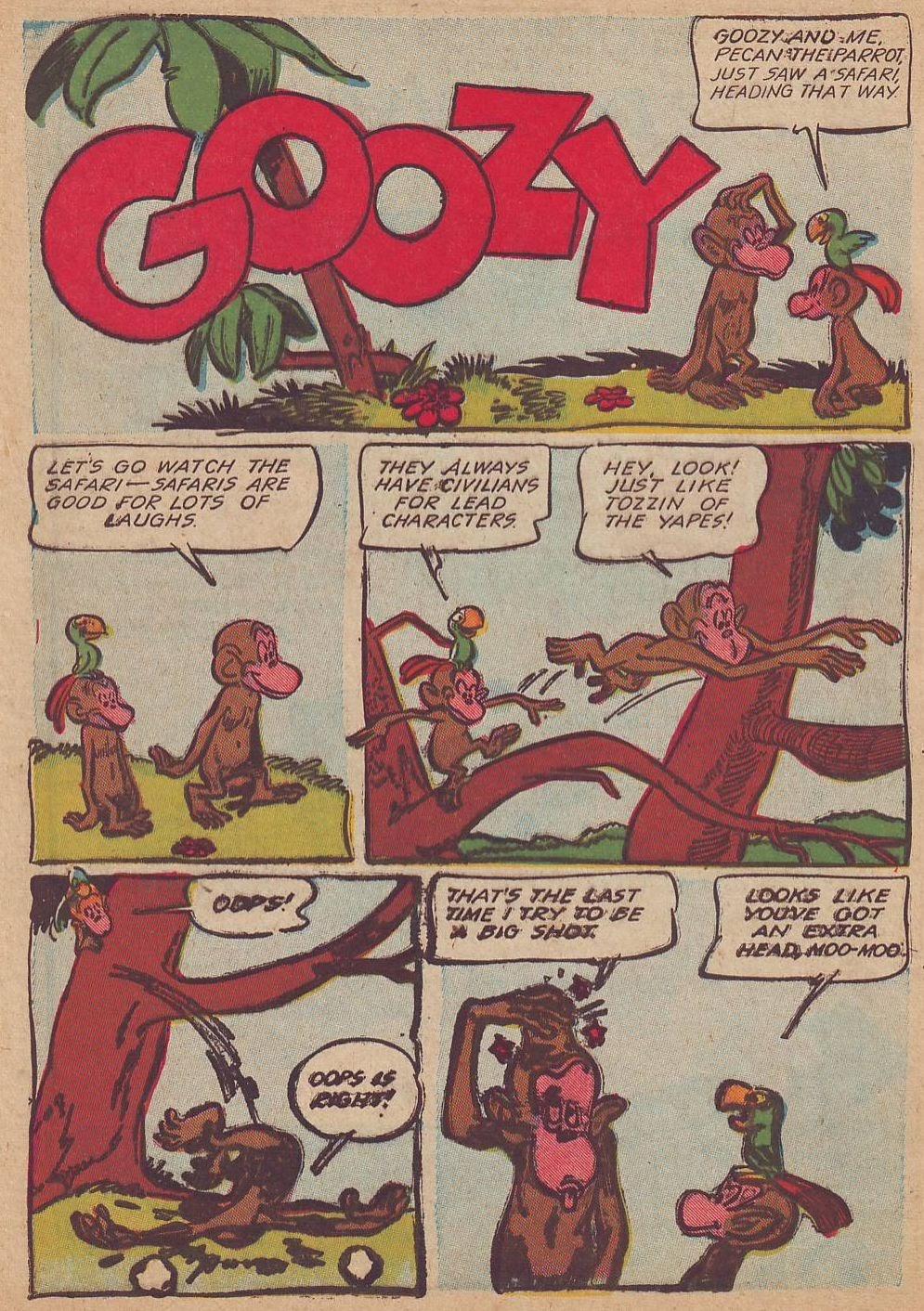 Read online Animal Comics comic -  Issue #23 - 40