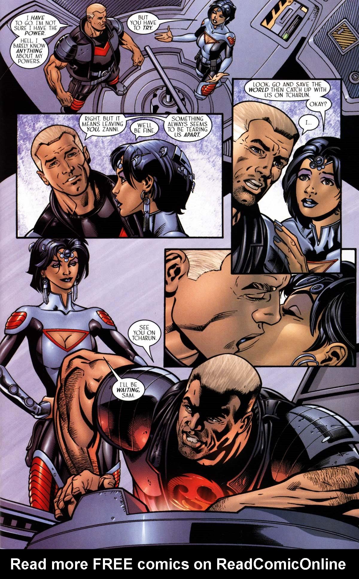 Read online Sigil (2000) comic -  Issue #26 - 9