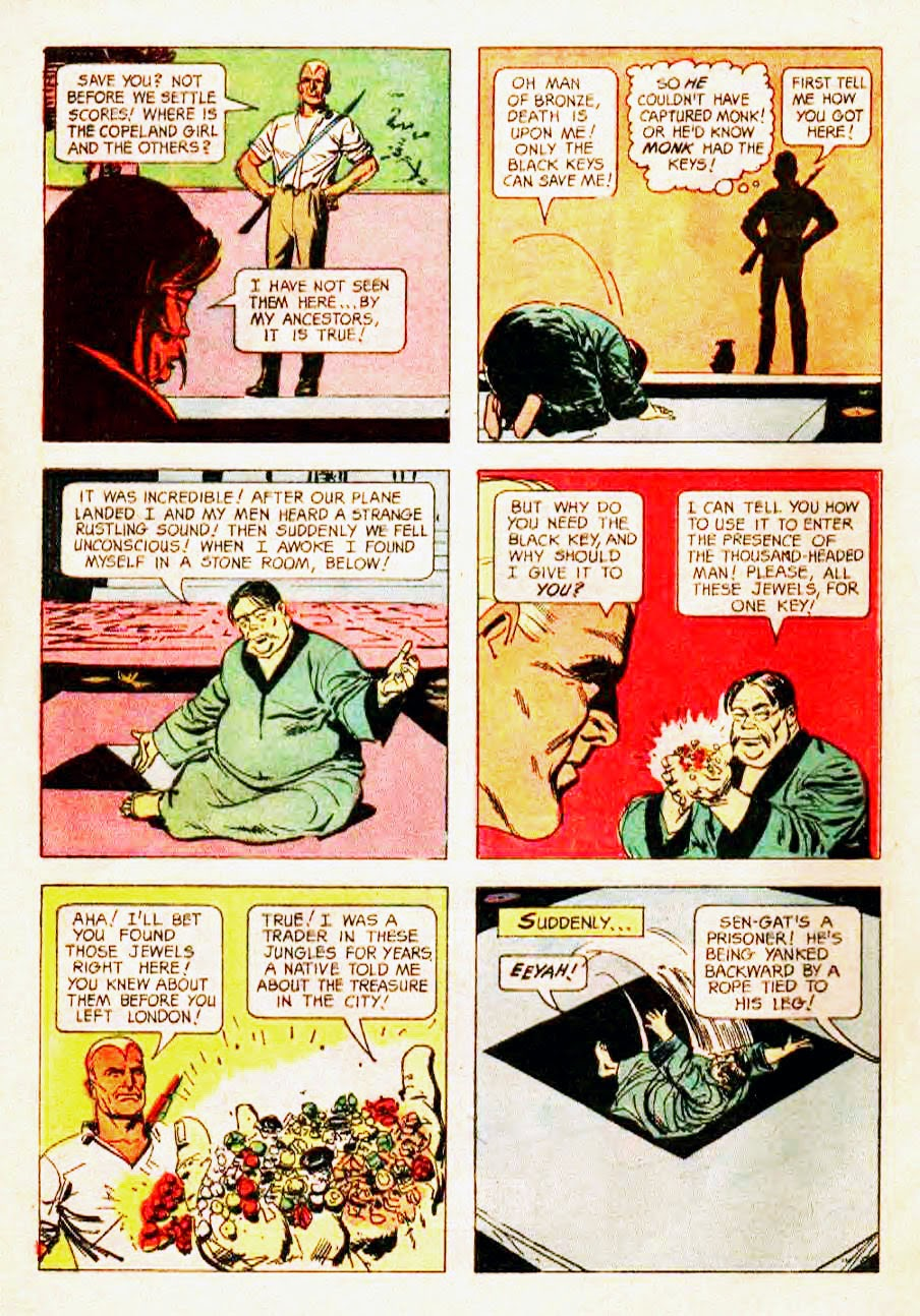 Read online Doc Savage (1966) comic -  Issue # Full - 28