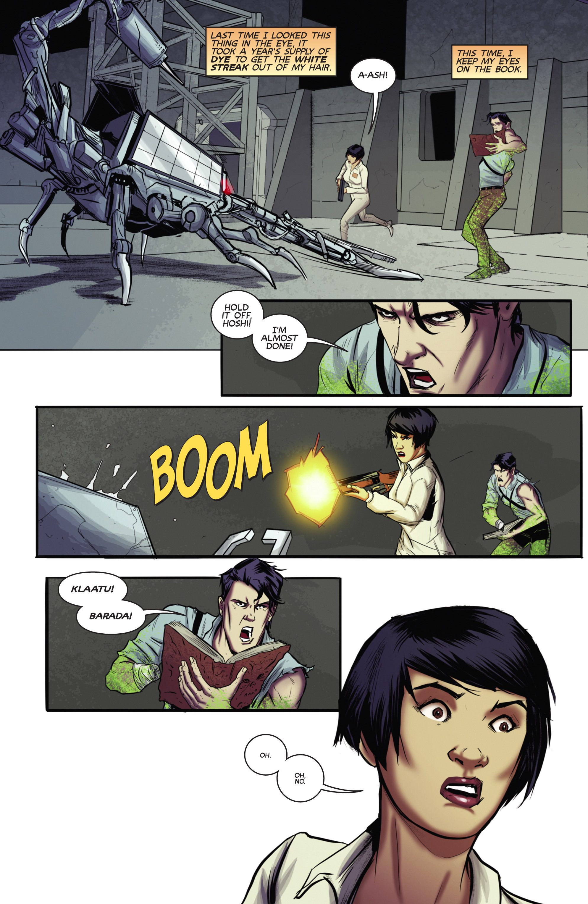 Read online Army of Darkness (2014) comic -  Issue #4 - 24
