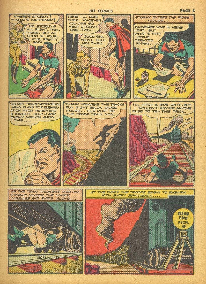 Read online Hit Comics comic -  Issue #24 - 7