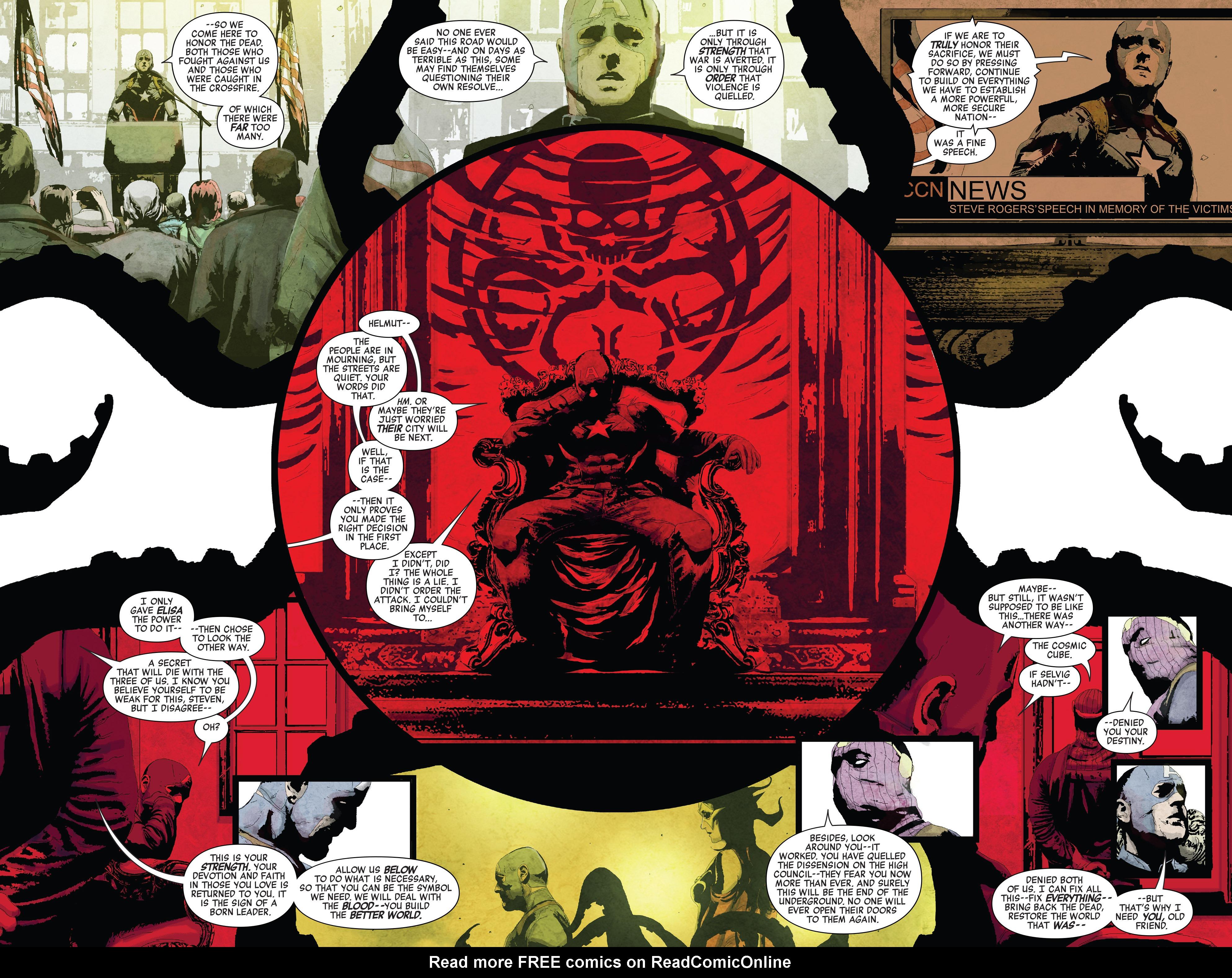 Read online Secret Empire comic -  Issue #2 - 19
