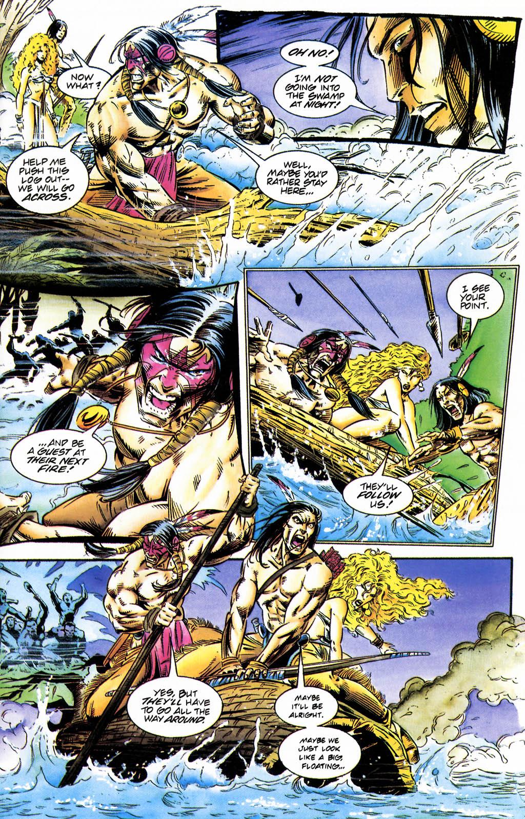Read online Turok, Dinosaur Hunter (1993) comic -  Issue #35 - 8