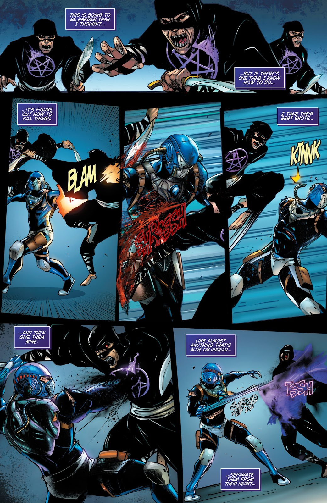 Read online Zodiac comic -  Issue #2 - 7