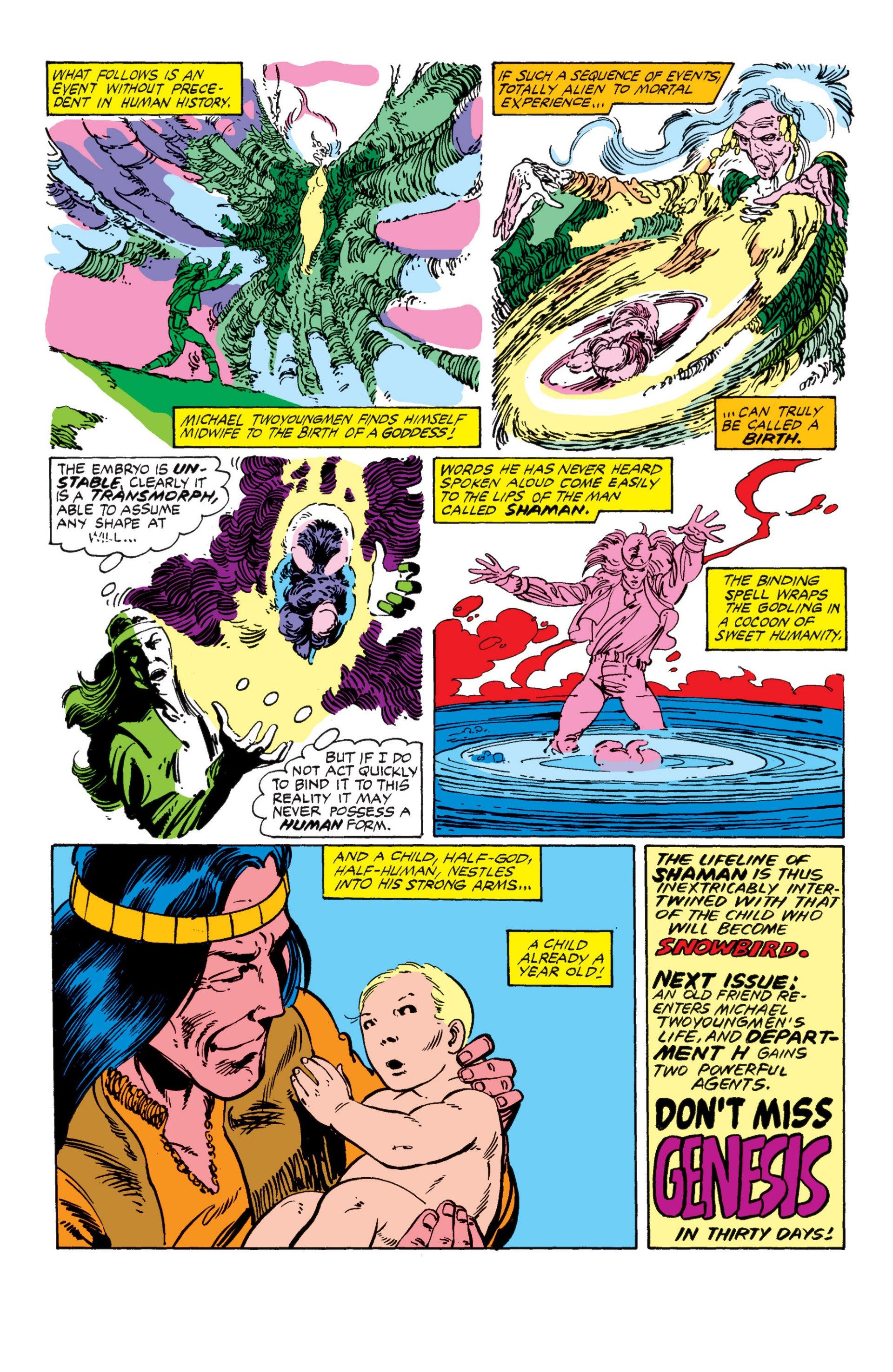 Read online Alpha Flight (1983) comic -  Issue #7 - 23